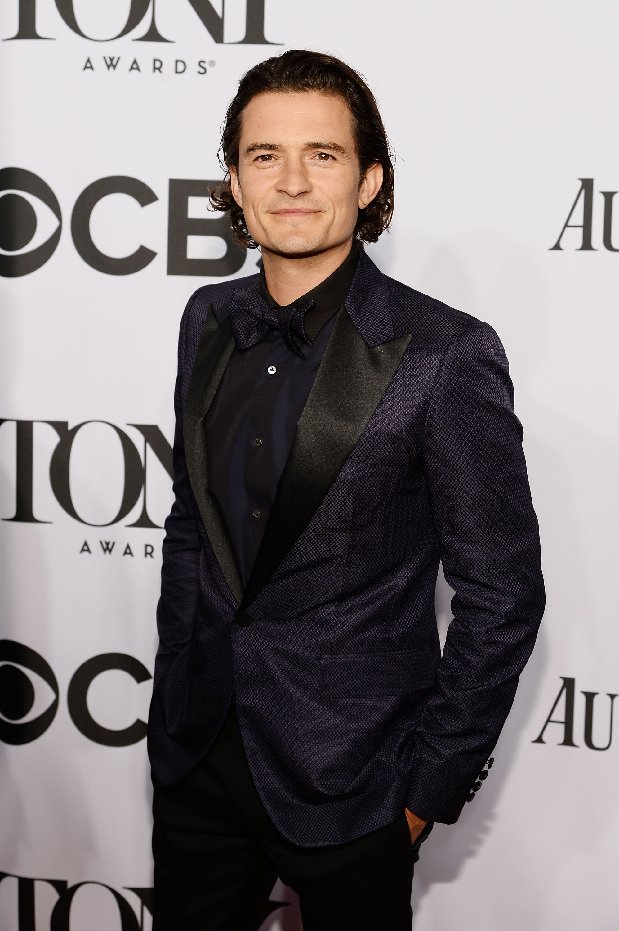 Actor Orlando Bloom attends the 68th Annual Tony Awards at Radio City Music Hall on June 8, 2014 in New York City.