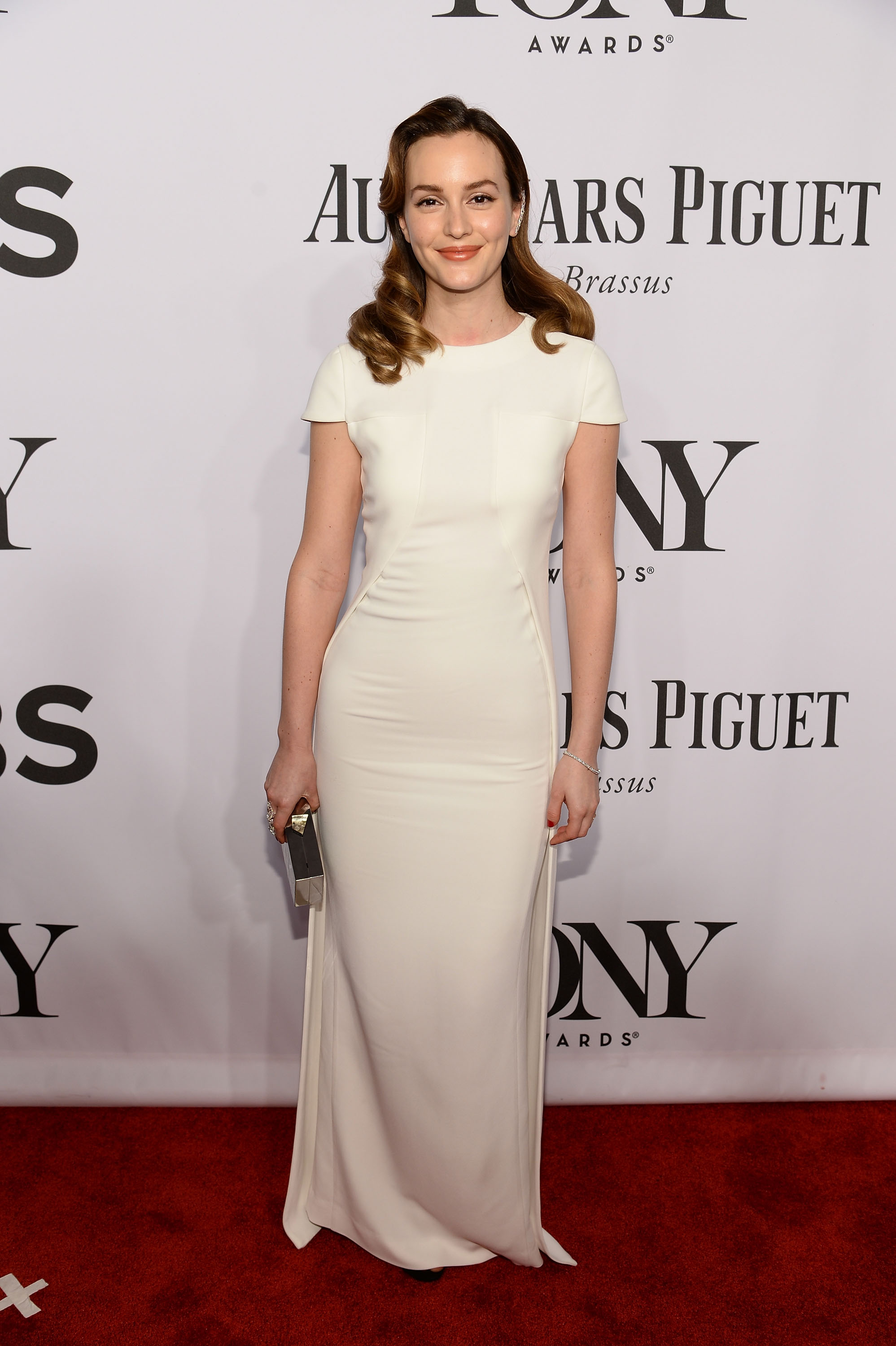 Actress Leighton Meester attends the 68th Annual Tony Awards at Radio City Music Hall on June 8, 2014 in New York City.