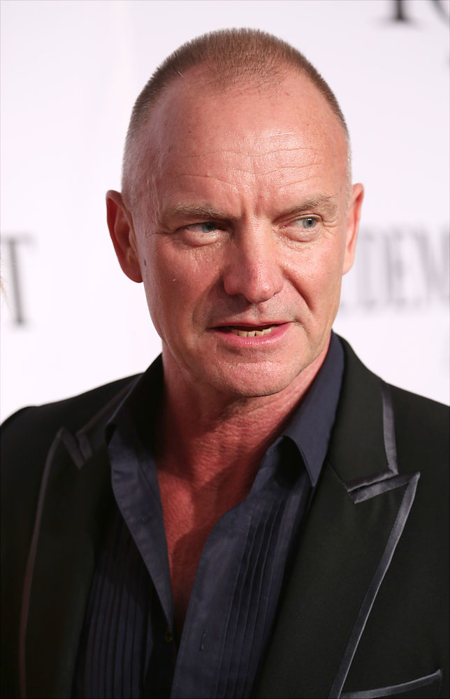 Sting  attends the 68th Annual Tony Awards at Radio City Music Hall in New York City on June 8, 2014