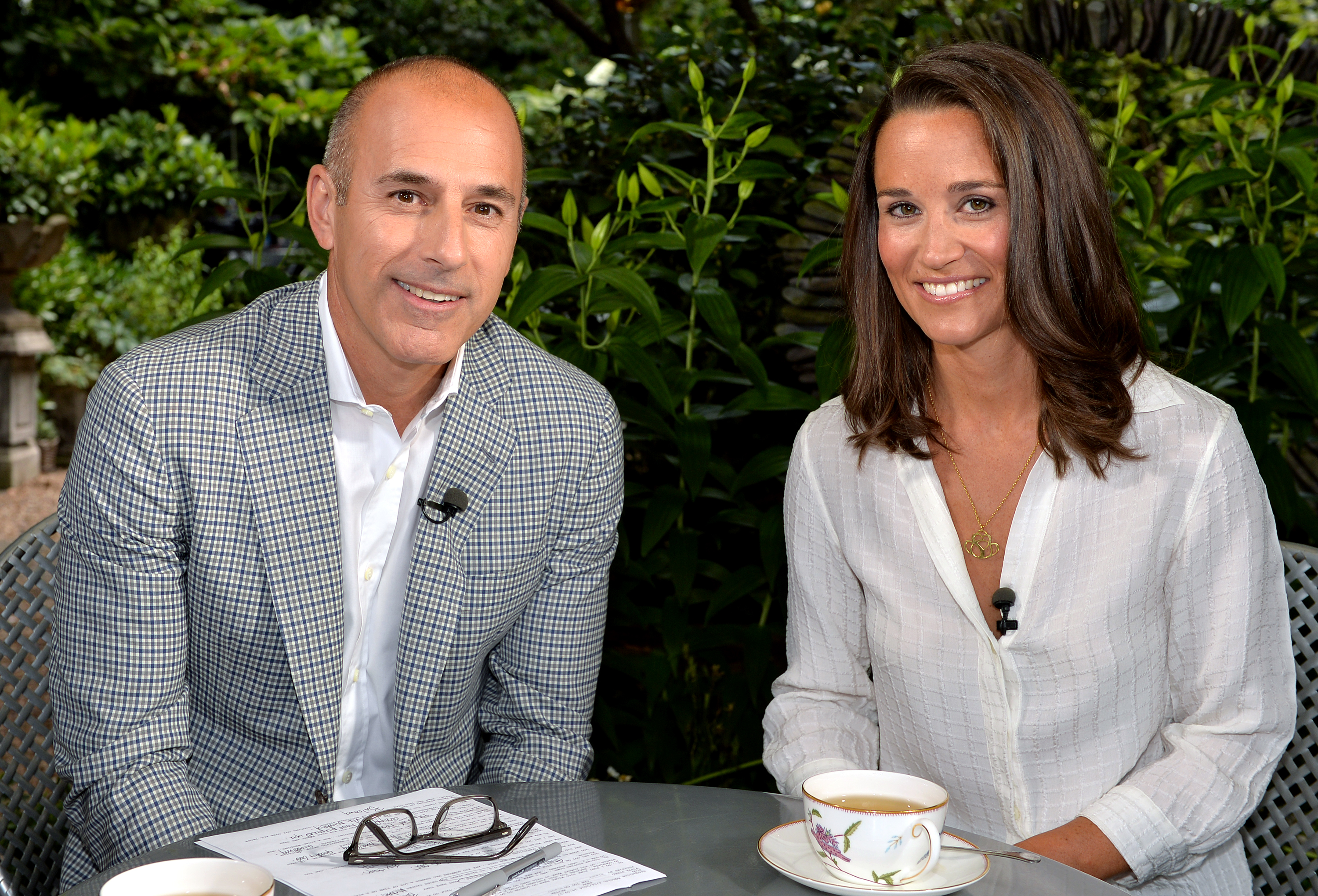 Pippa Middleton sits down with Matt Lauer in her first-ever television interview (Anthony Harvey --NBC/NBC NewsWire via Getty Images)