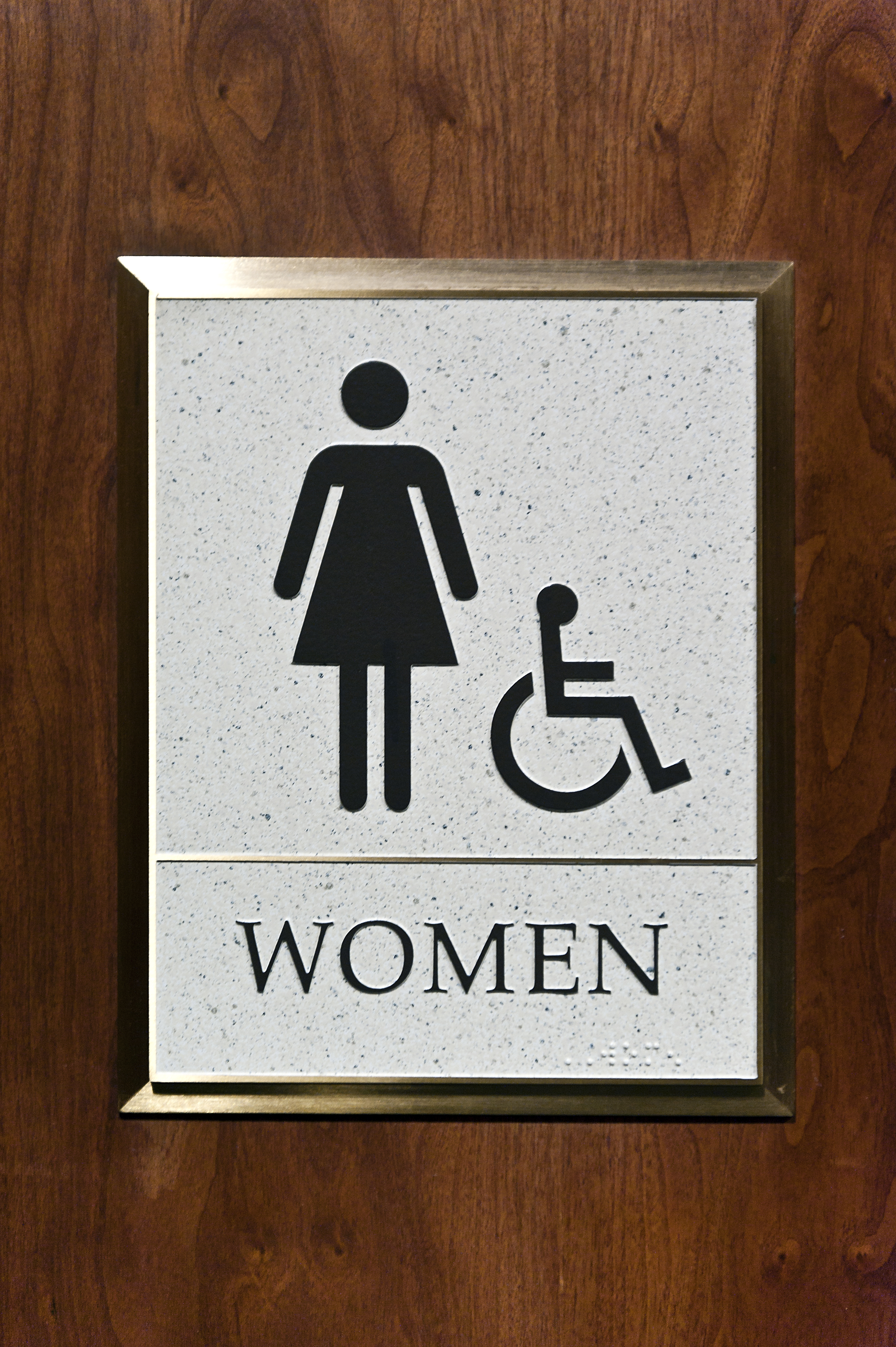 Woman's Restroom Sign