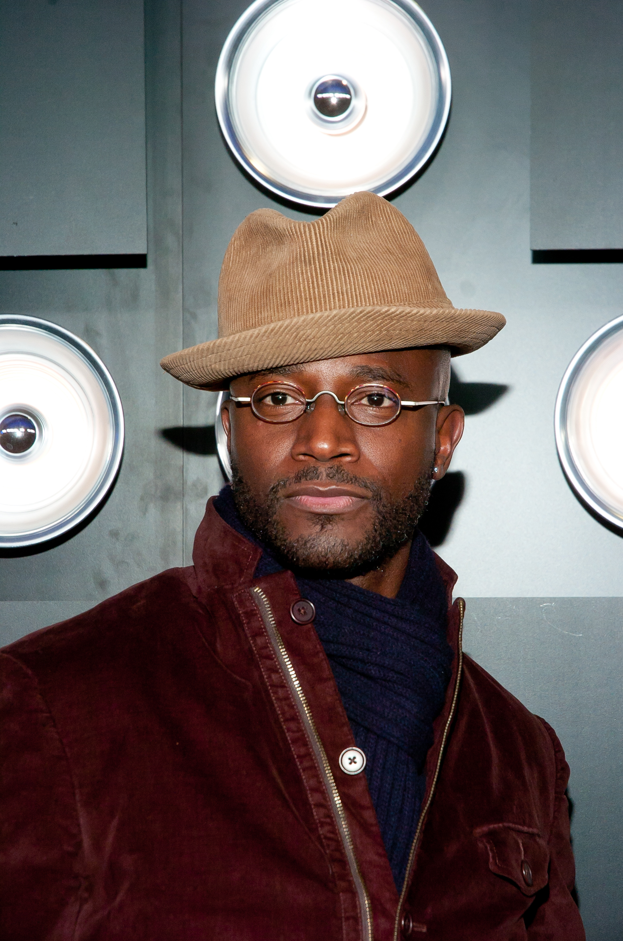 Actor Taye Diggs attends the 60th Anniversary Playboy Party at Bud Light Hotel on January 31, 2014 in New York City.