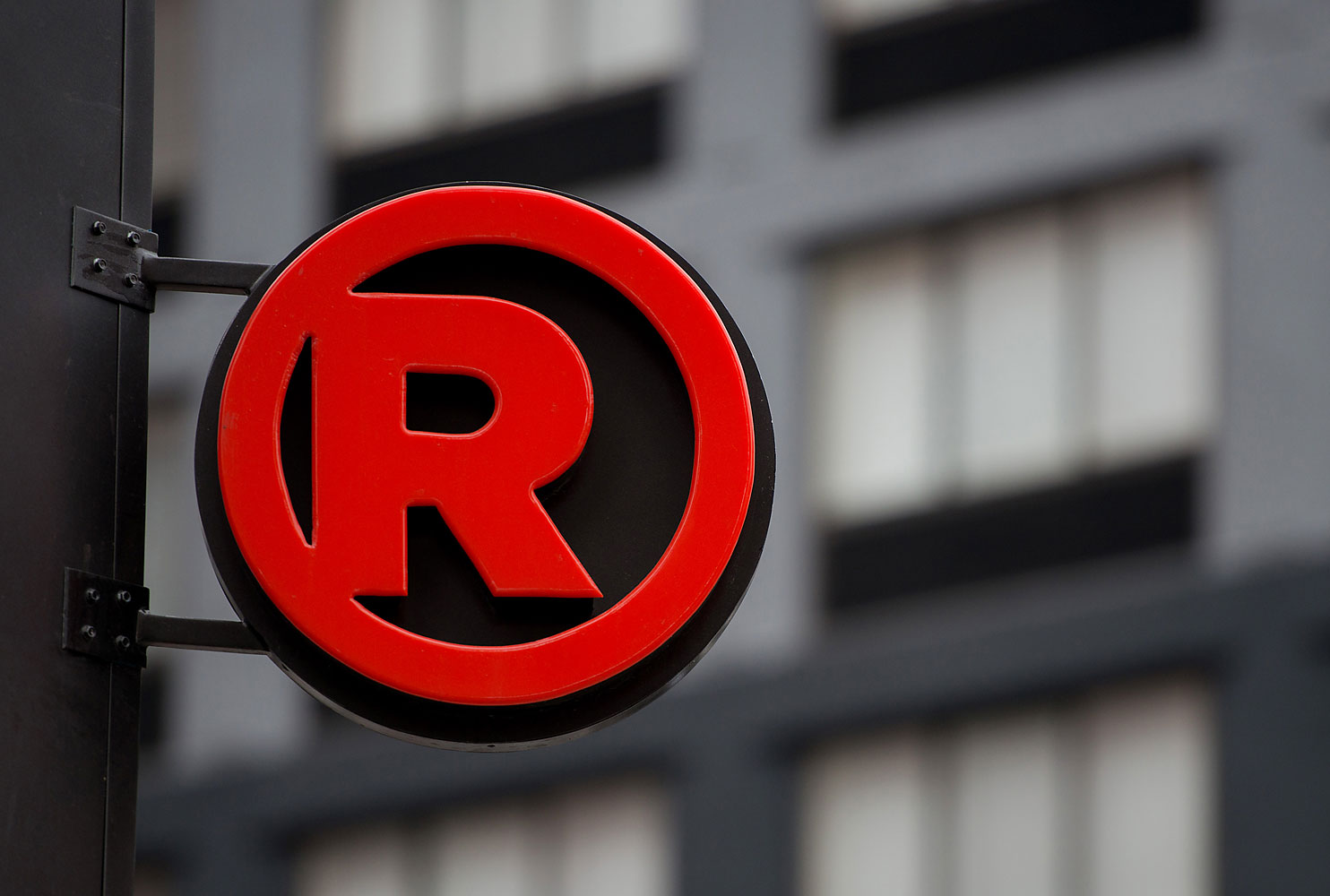RadioShack Corp. signage is displayed outside of a store in New York, U.S., on Sunday, March 2, 2014. RadioShack Corp. is scheduled to release earnings figures on March 4. Photographer: Craig Warga/Bloomberg via Getty Images