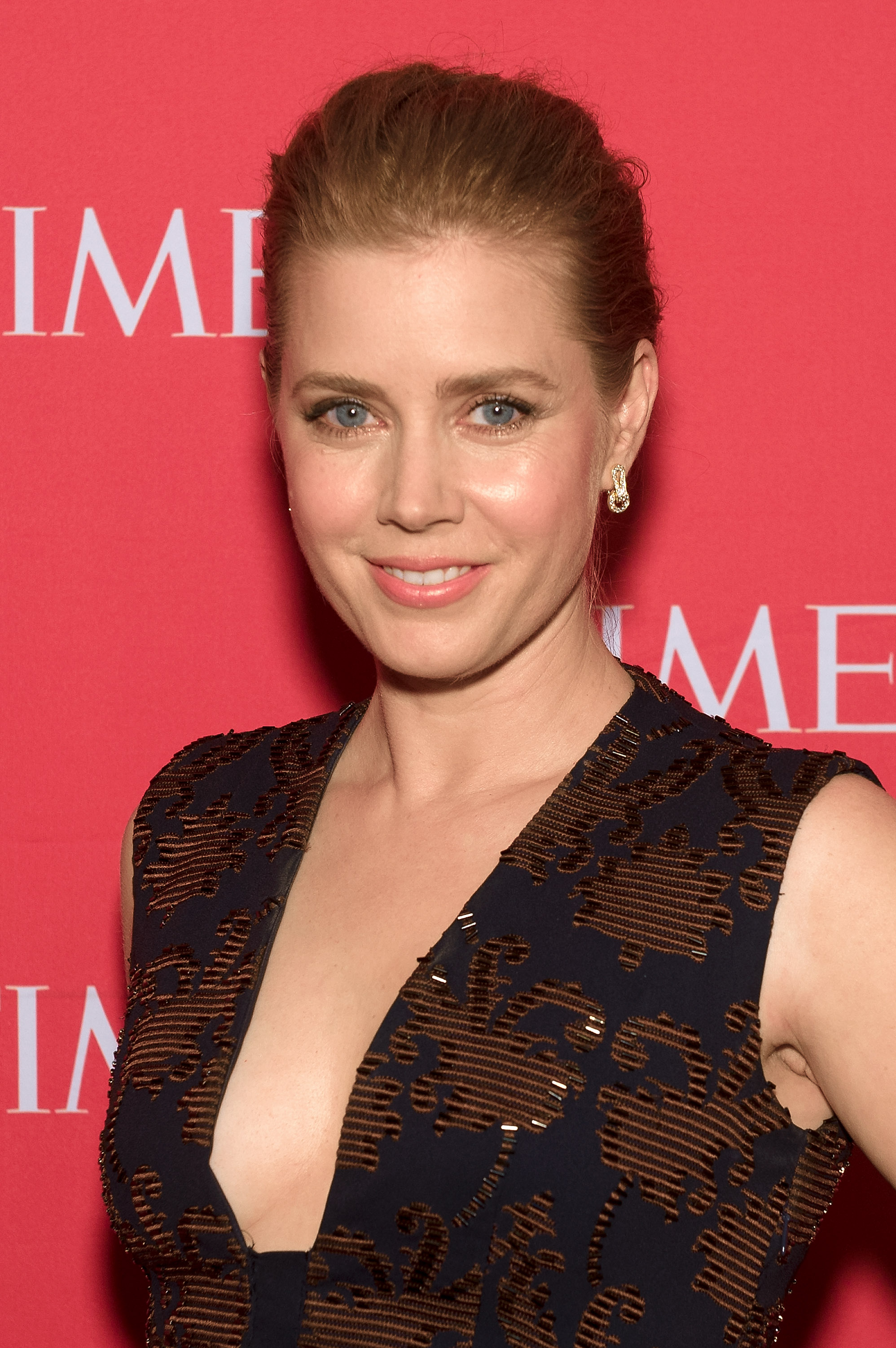 Amy Adams attends the 2014 Time 100 Gala on April 29 in New York City.