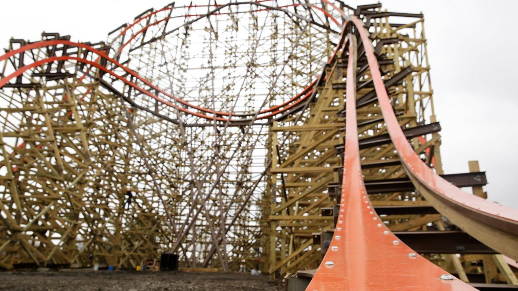 World S Biggest Roller Coaster How The Goliath Works Time