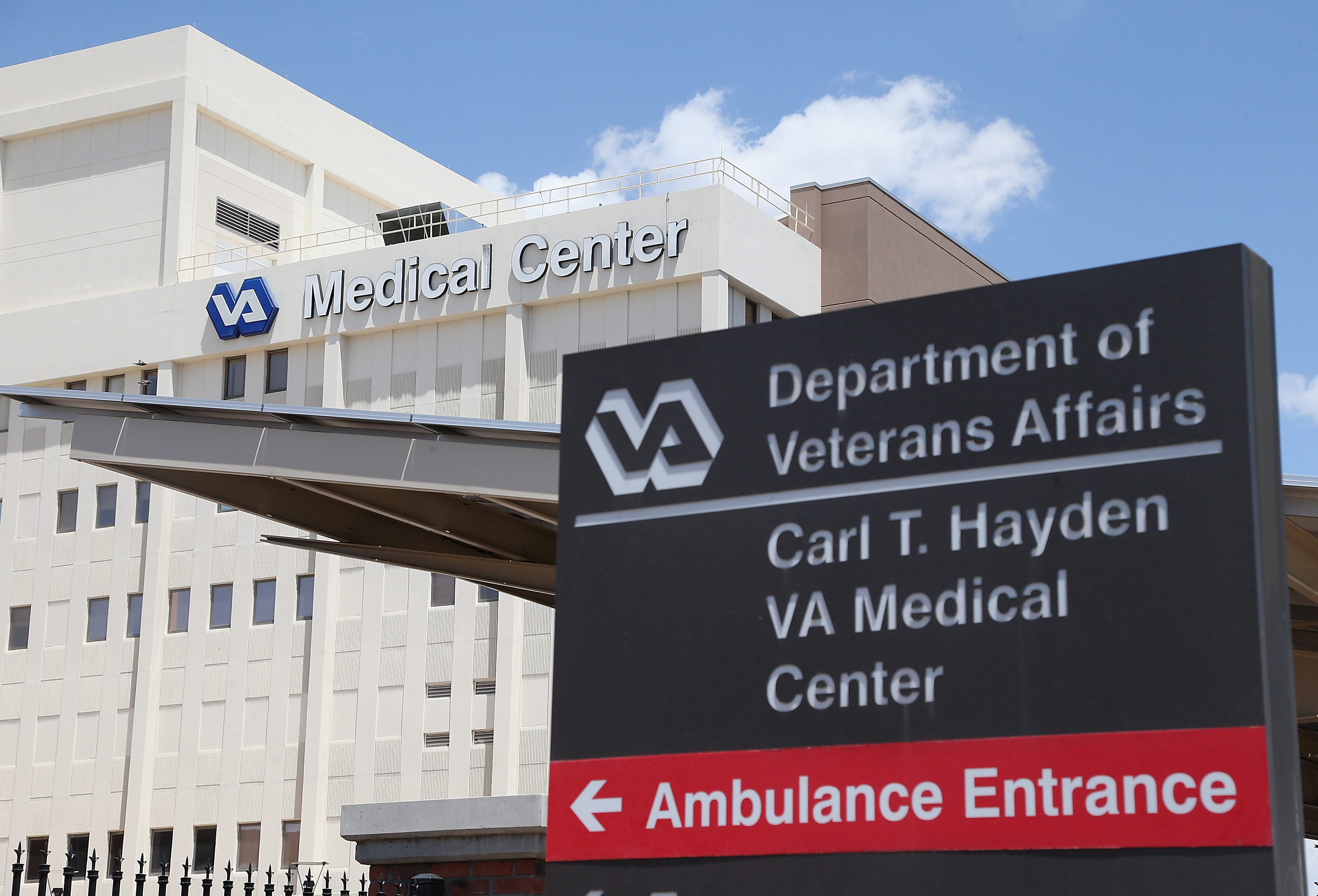 The Veterans Affairs Medical Center on May 8, 2014 in Phoenix, Arizona.