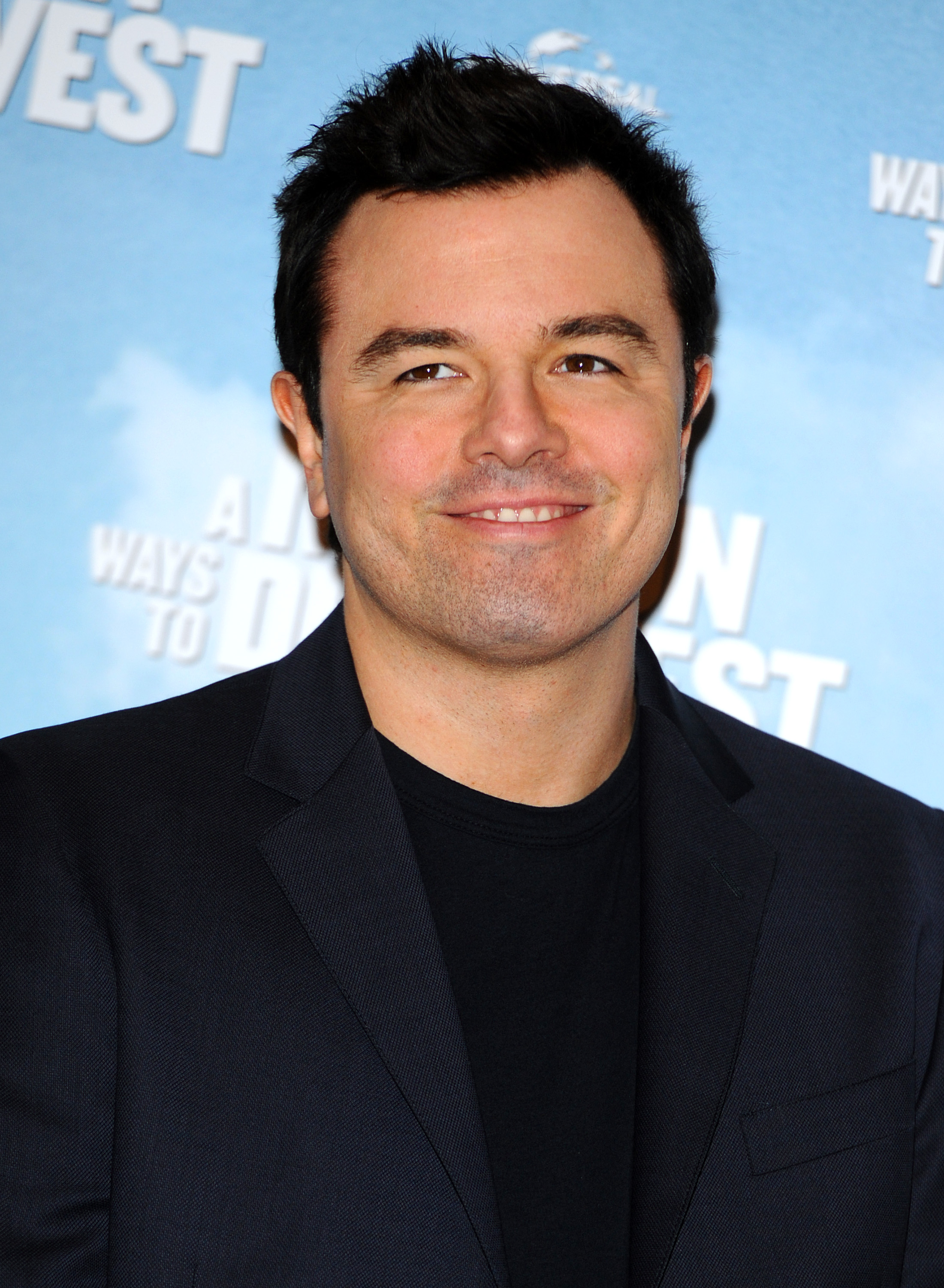 Seth Macfarlane attends a photocall to promote  A Million Ways To Die In The West  on May 27, 2014 in London, England.