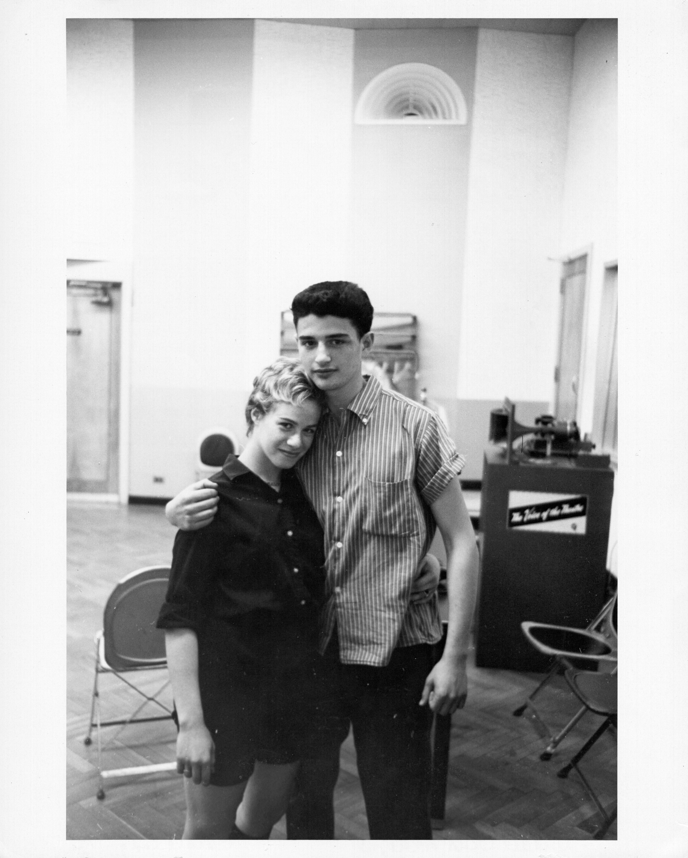 Gerry Goffin with Carole King in the early 1960s.
