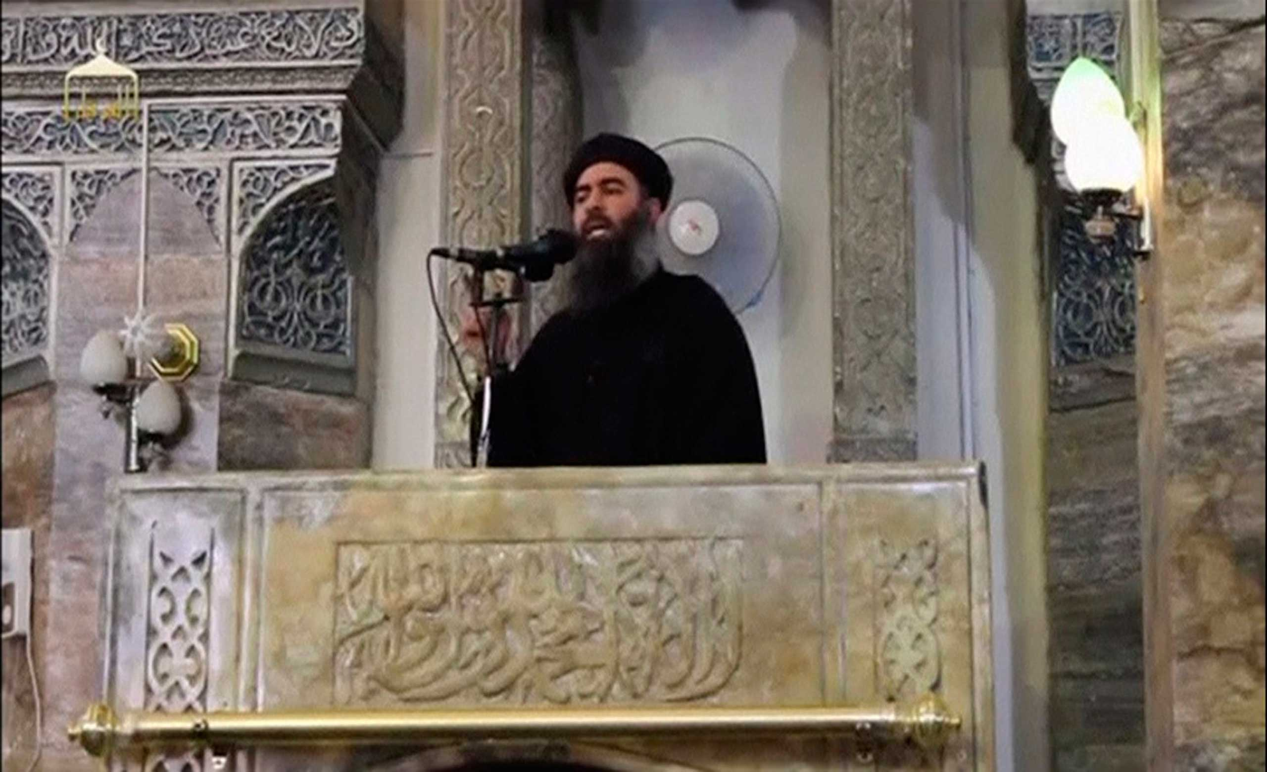<b>$10 million: Abu Du'a a.k.a. Abu Bakr al-Baghdadi</b>                                   Abu Du'a is the leader of the militant Islamist group ISIS. ISIS is considered too extreme even by al-Qaeda, which disavowed the group in 2014. Recently, ISIS has seized Mosul and other major Iraqi cities, threatening the country's security and sparking global panic.
