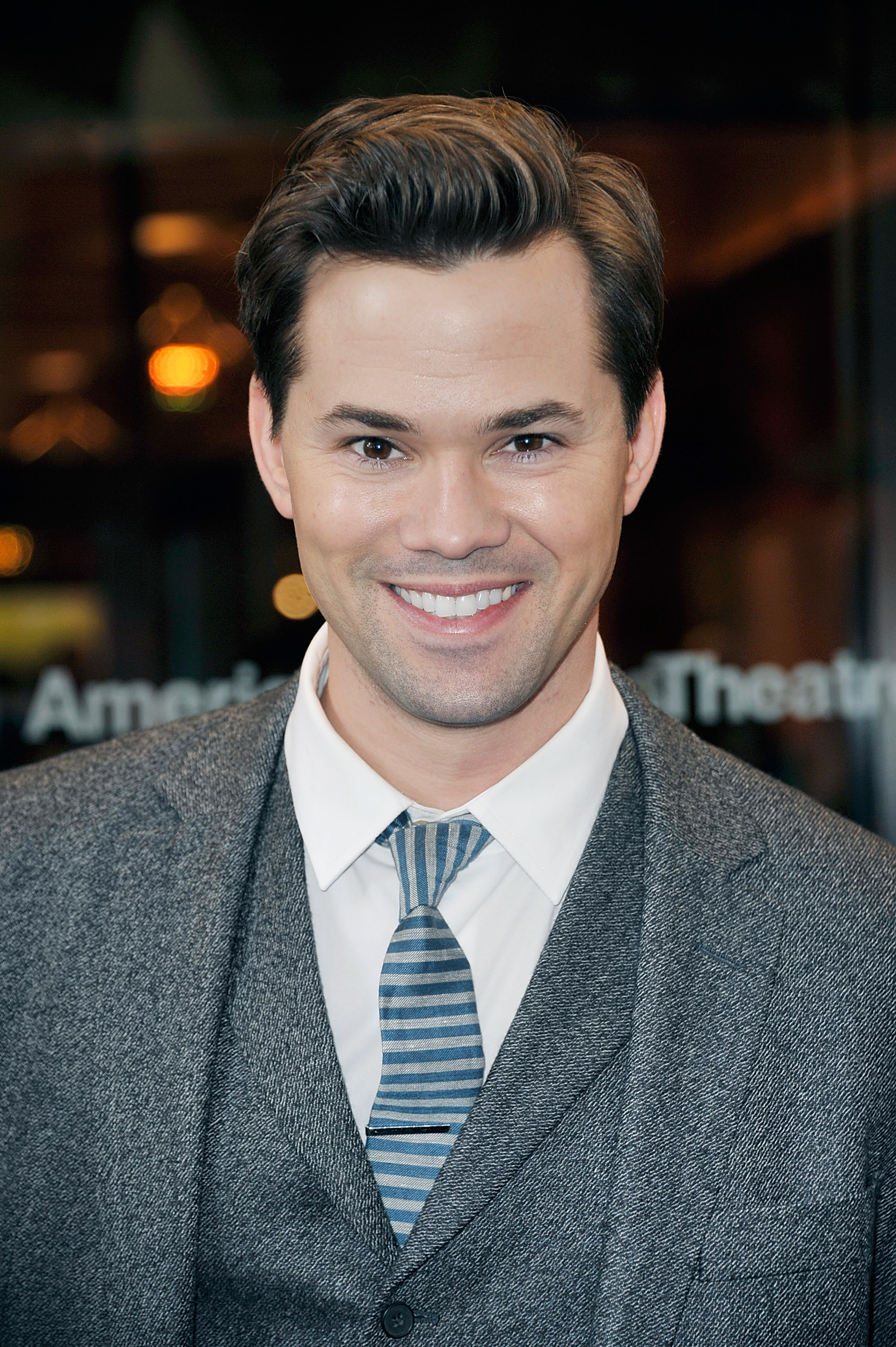 Andrew Rannells attends the  Violet  Opening Night at American Airlines Theatre on April 20, 2014 in New York City.
