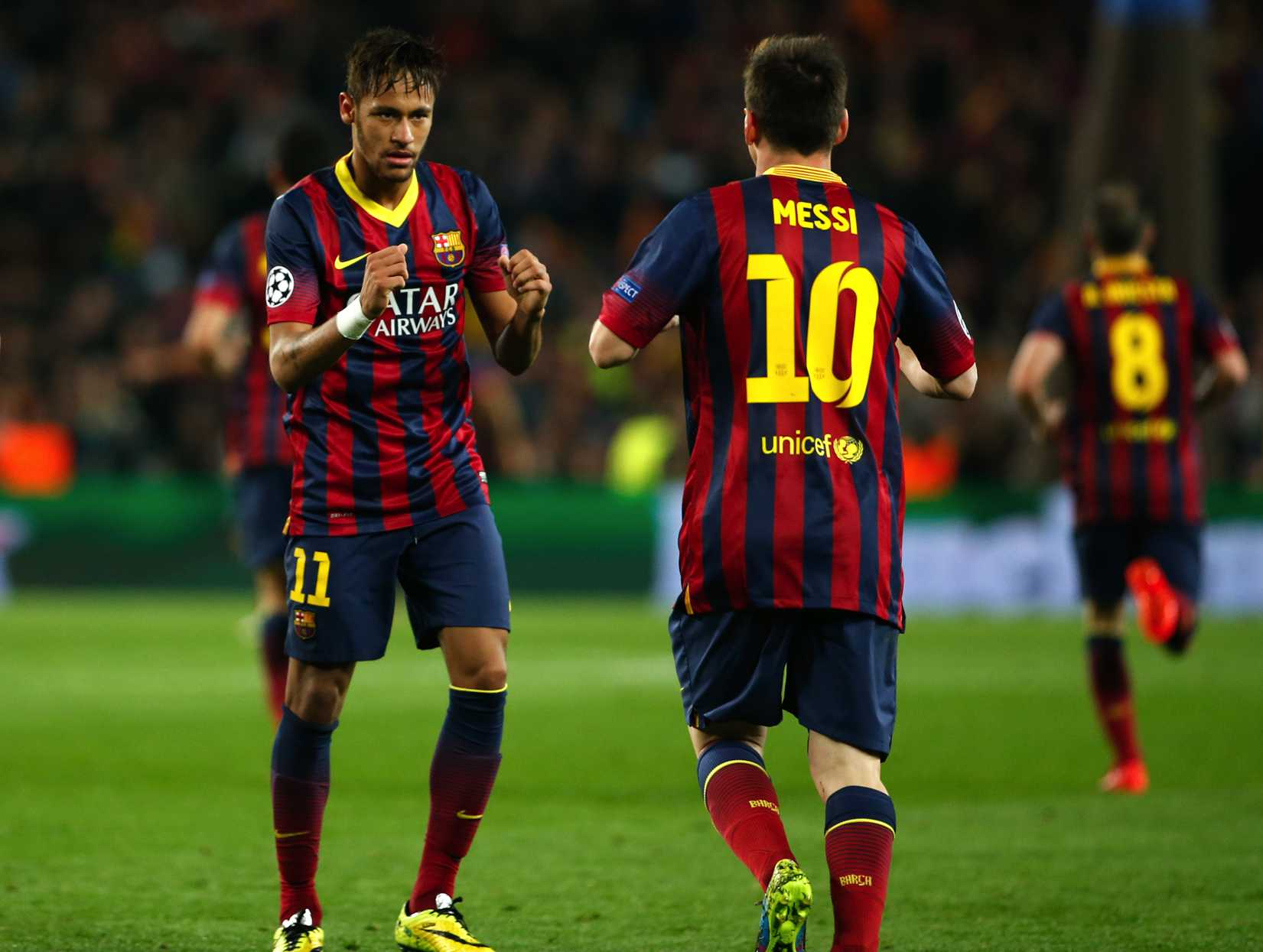 Barcelona x PSG: Neymar manda mensagem do Instagram para Lionel Messi