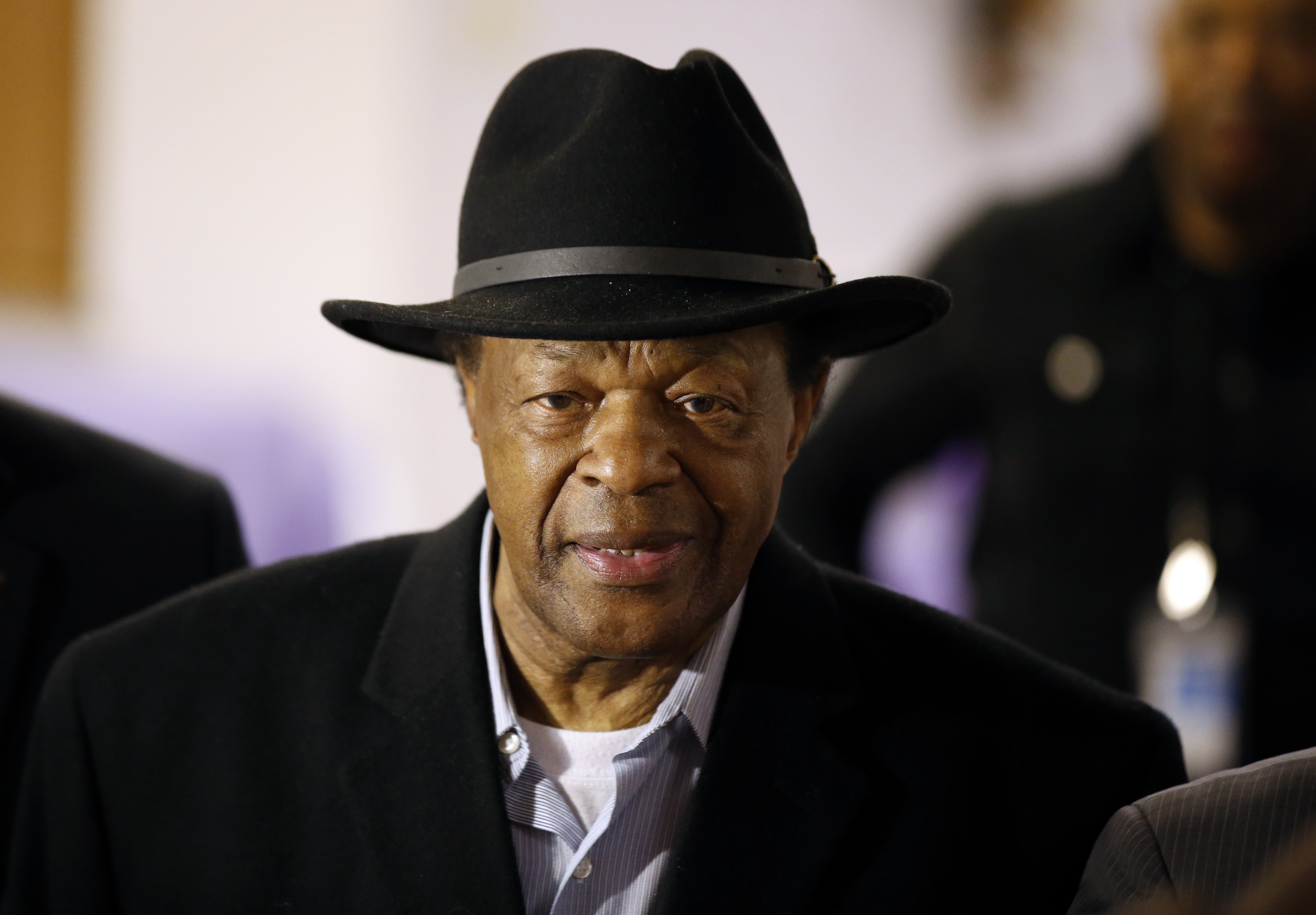 Former Mayor and current DC City Council member Marion Barry in Washington, March 19, 2014.
