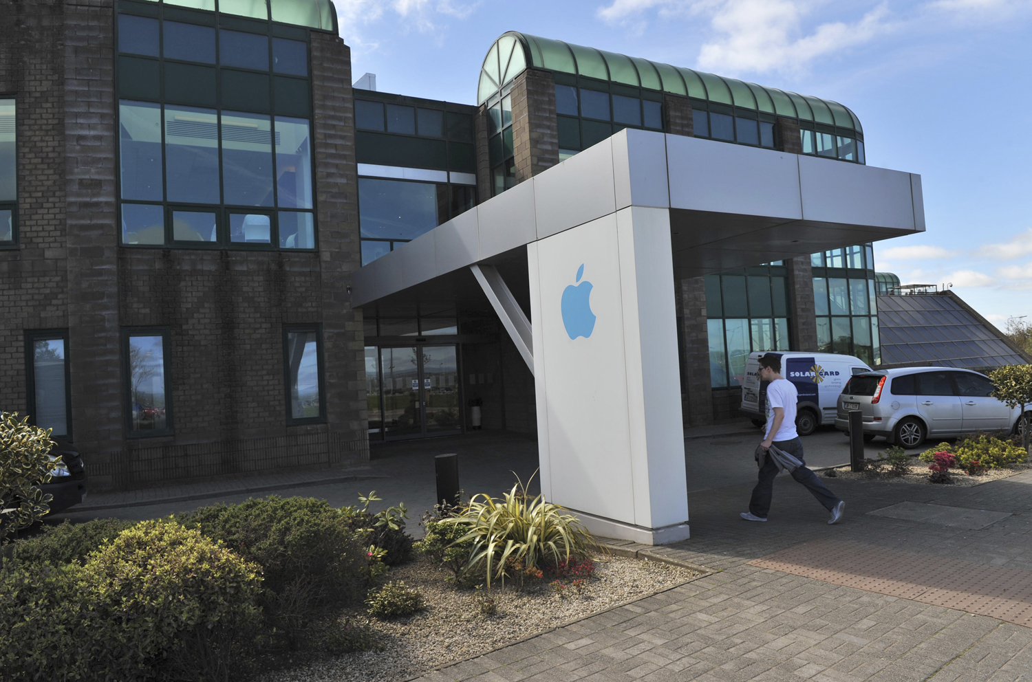 Apple Operations International, a subsidiary of Apple Inc, is seen in Hollyhill, Cork, in the south of Ireland May 21, 2013.