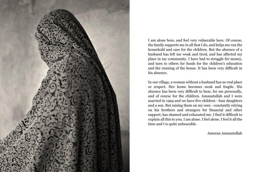 Prisoner: Amanatullah AliSubject: Ameena Ali, Wife