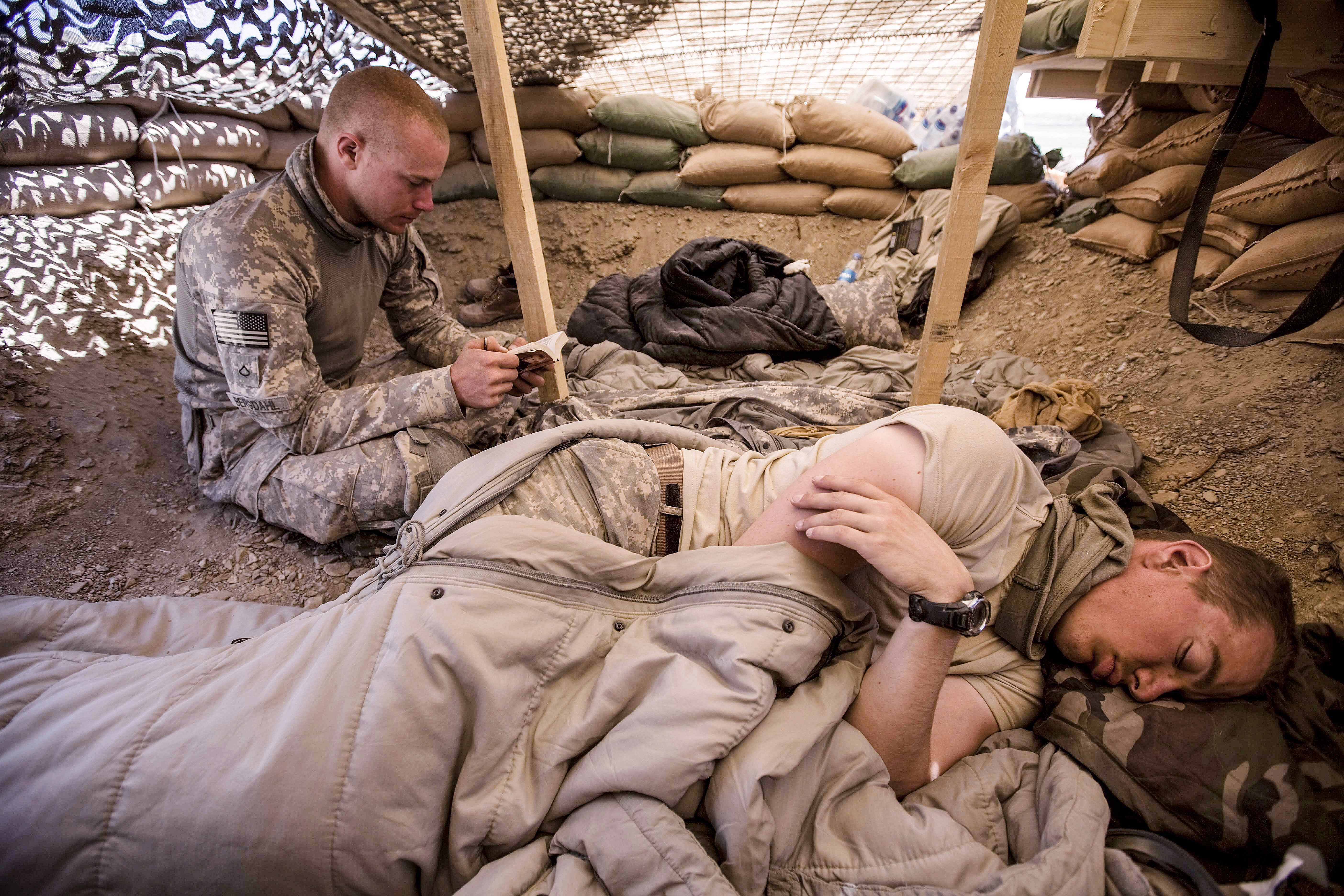 Guardian photographer Sean Smith spent several days with US army sergeant Bowe Bergdahl in southern Afghanistan shortly before he went missing in 2009.
