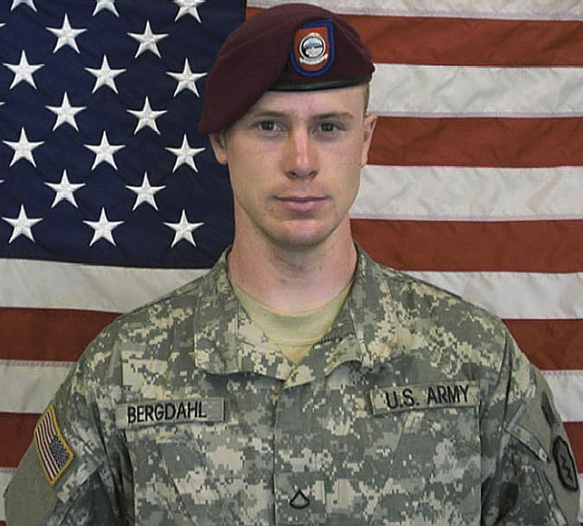 This undated photo provided by the U.S. Army shows Sergeant Bowe Bergdahl
