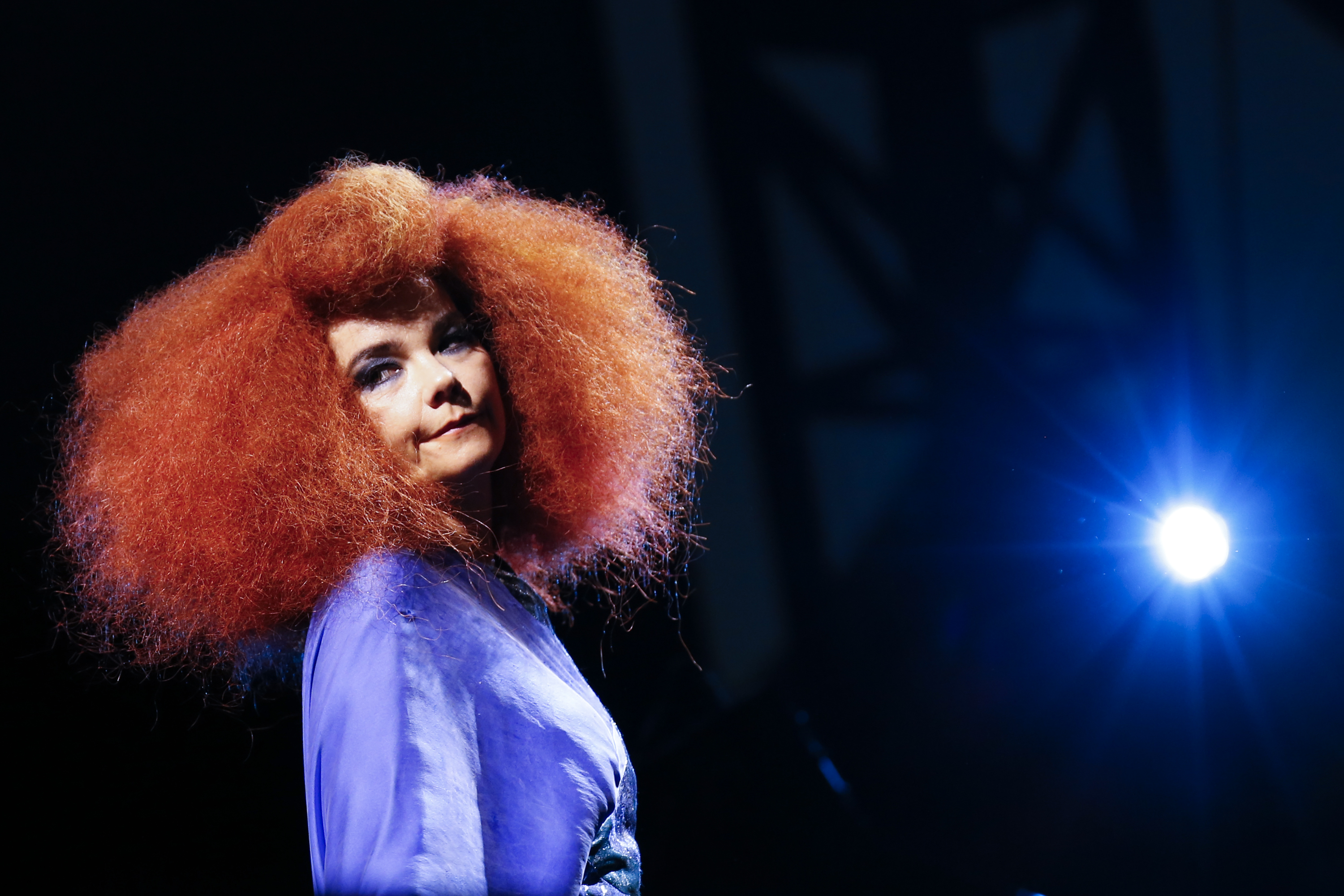 Björk performs on Day 9 of the RBC Royal Bank Bluesfest on July 13, 2013, in Ottawa.