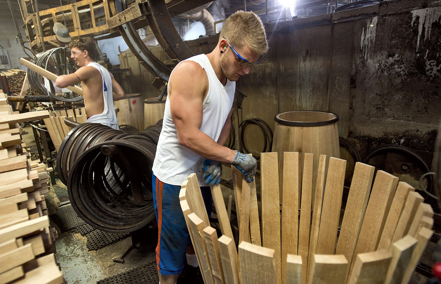 Artisanal products have helped spark a run on oak barrels