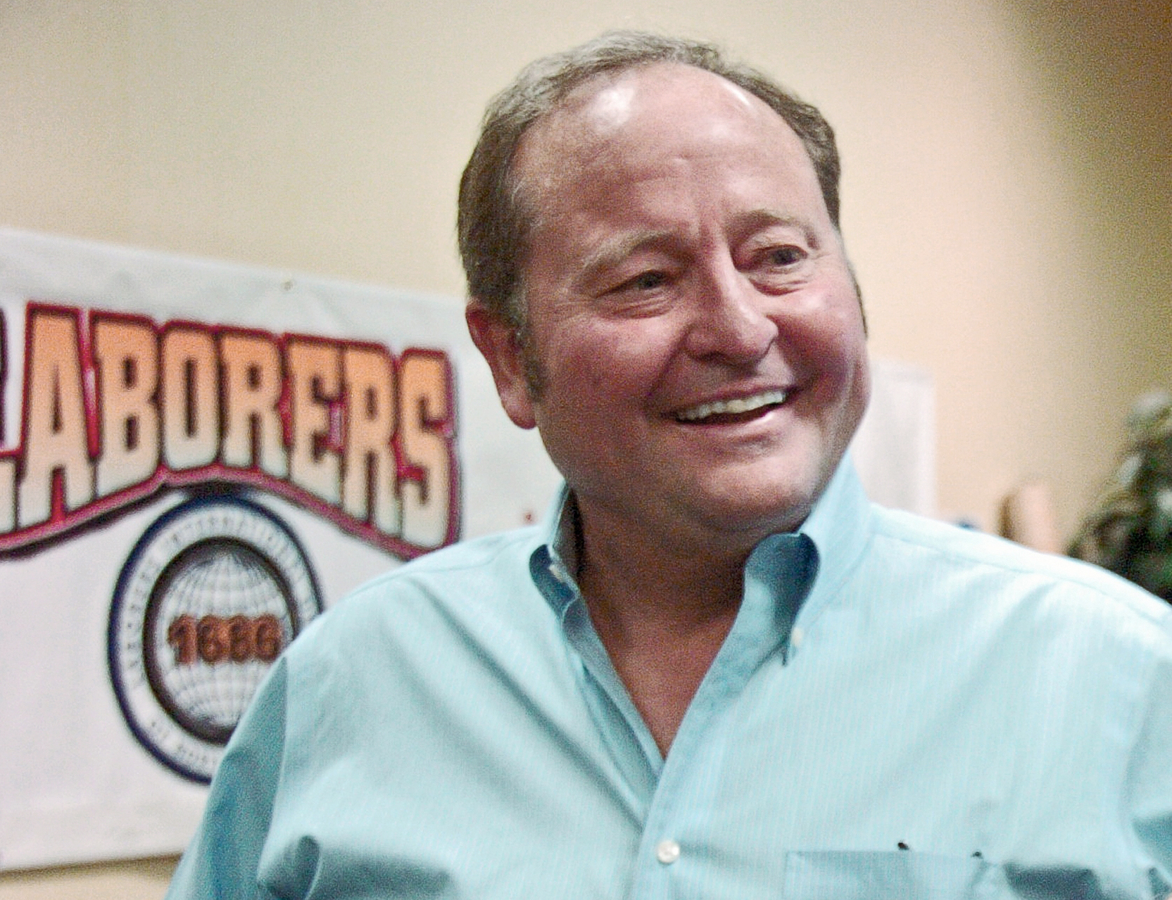 Former Democratic Montana Gov. Brian Schweitzer at the Montana AFL-CIO annual convention in Billings, Mont. on May 10, 2013