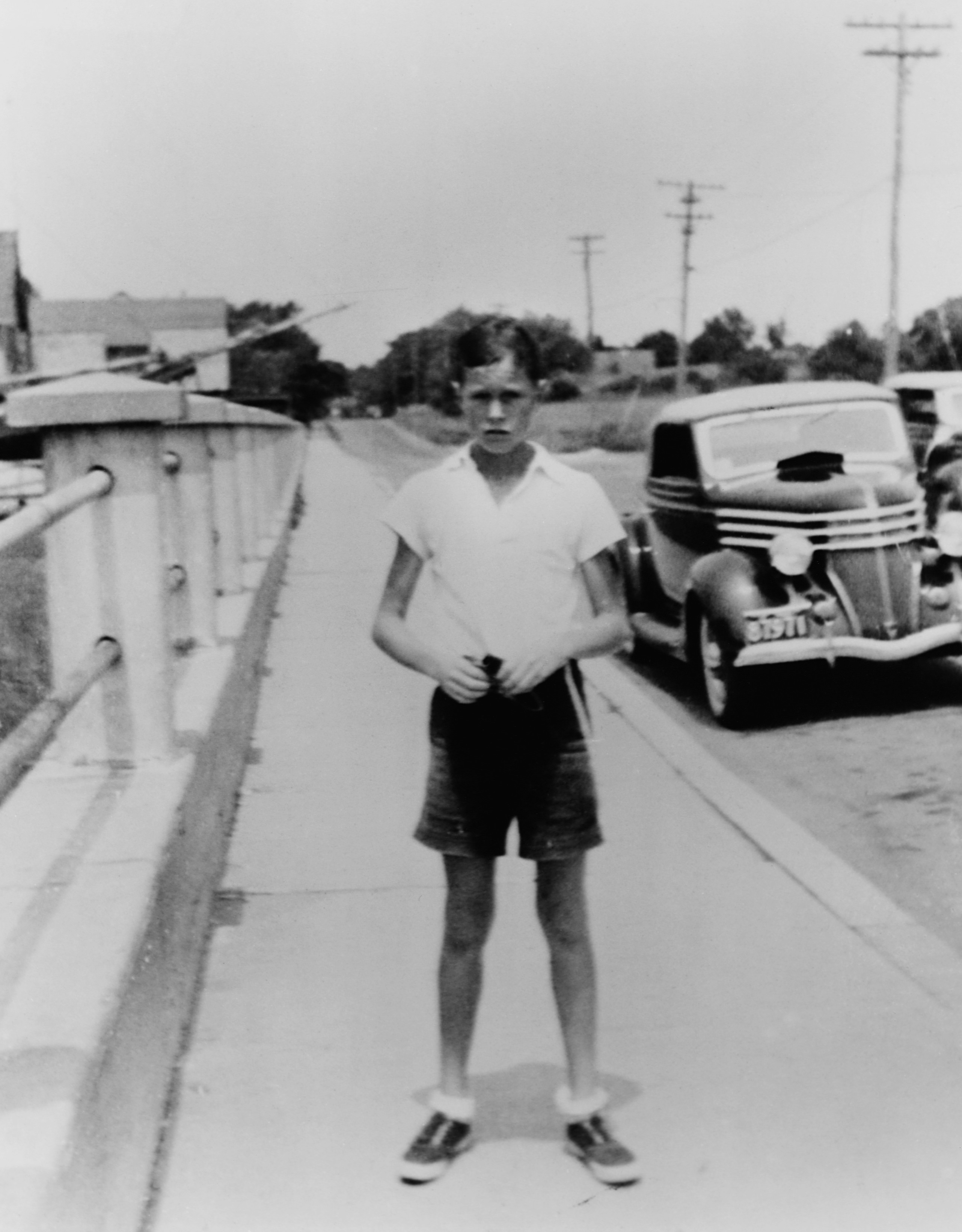 George H.W. Bush  at 13 years old on July 13, 1937.