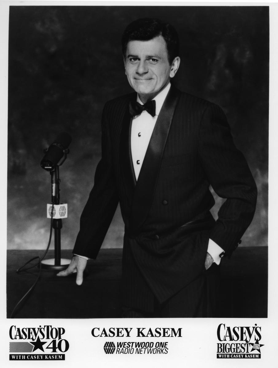 Casey Kasem poses for a publicity still circa 1990 in Los Angeles, Calif.