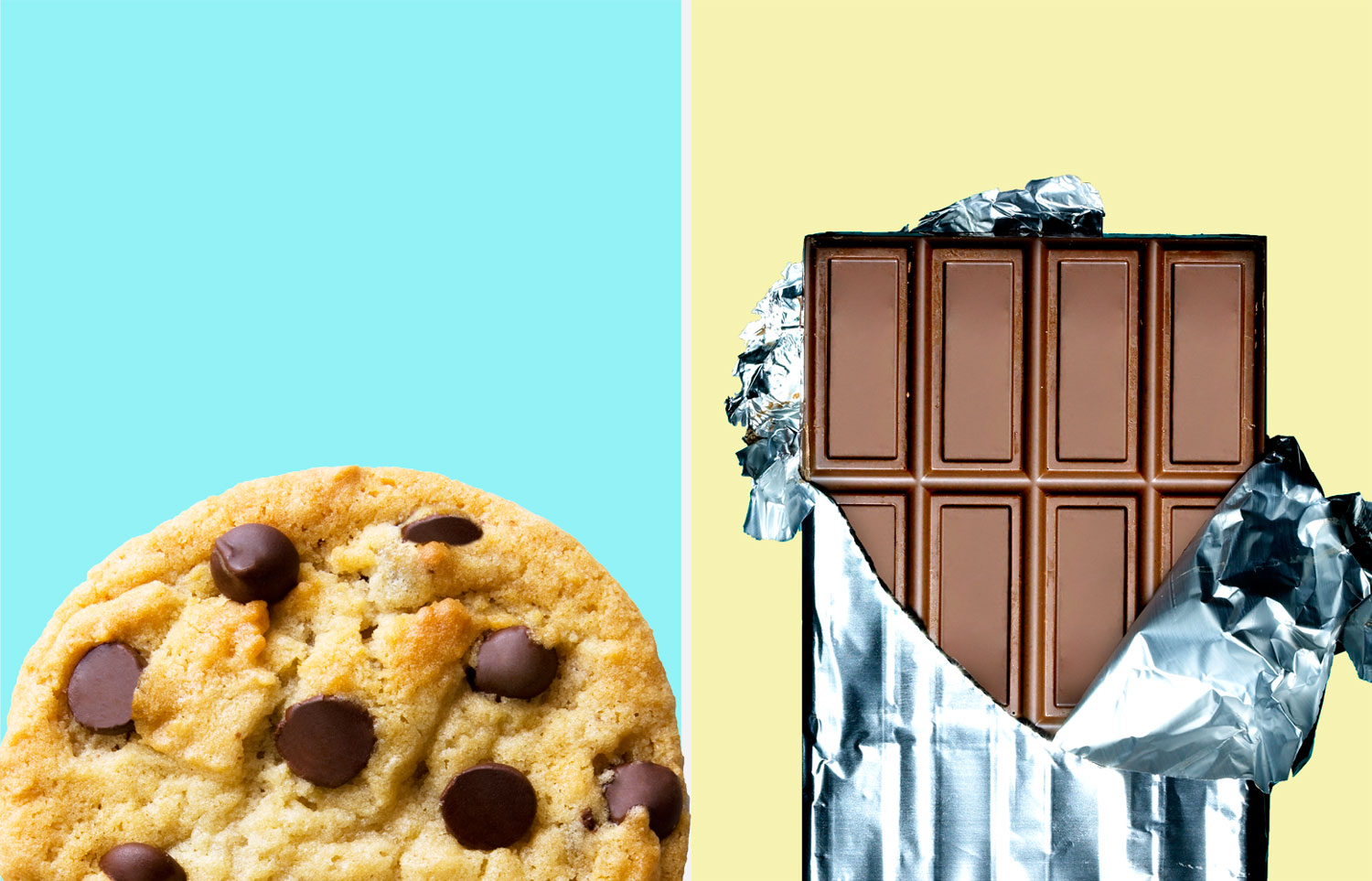 Which is better for you: A low fat cookie or dark chocolate?