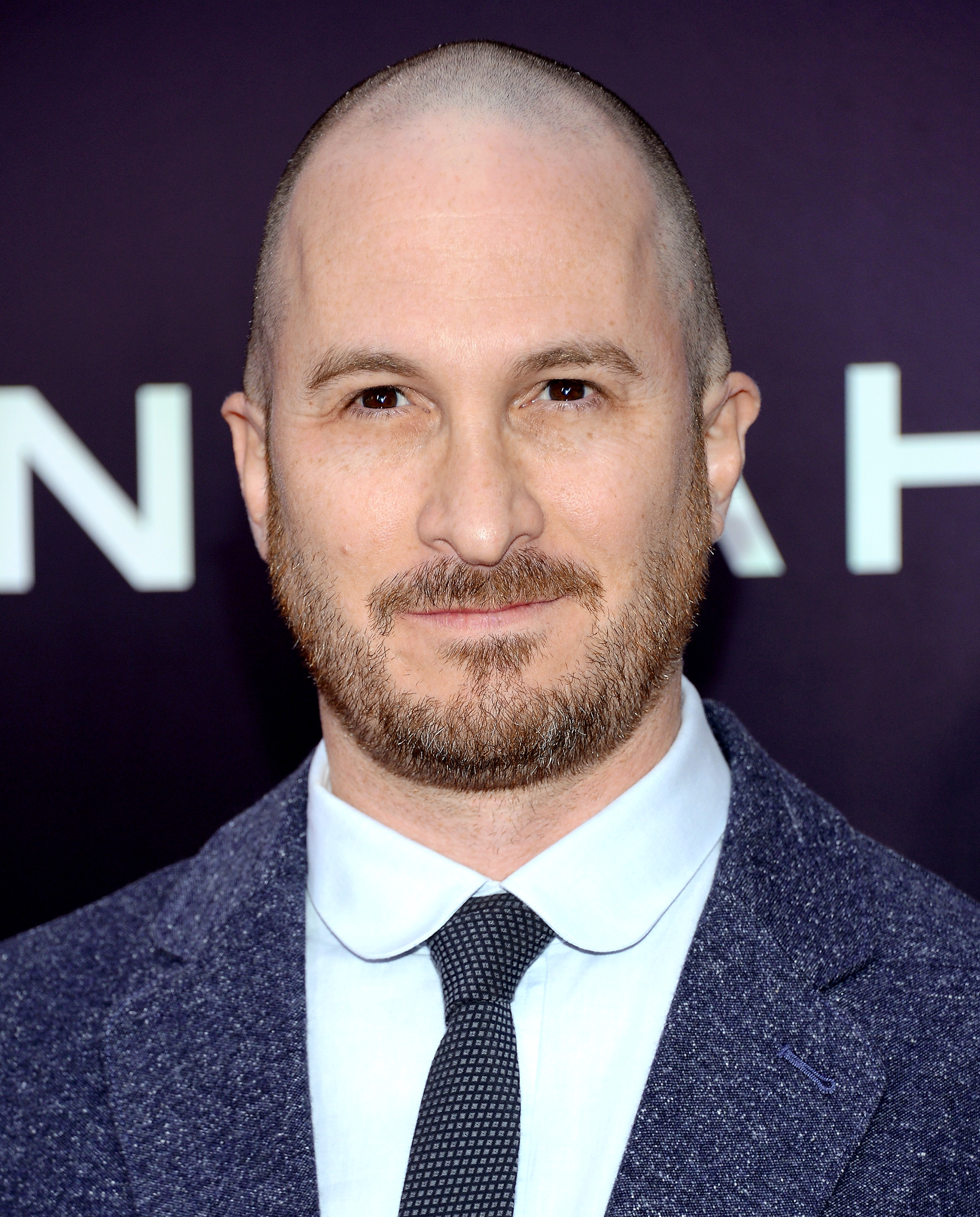 Director Darren Aronofsky attends the premiere of  Noah  at the Ziegfeld Theatre on in New York City on March 26, 2014.