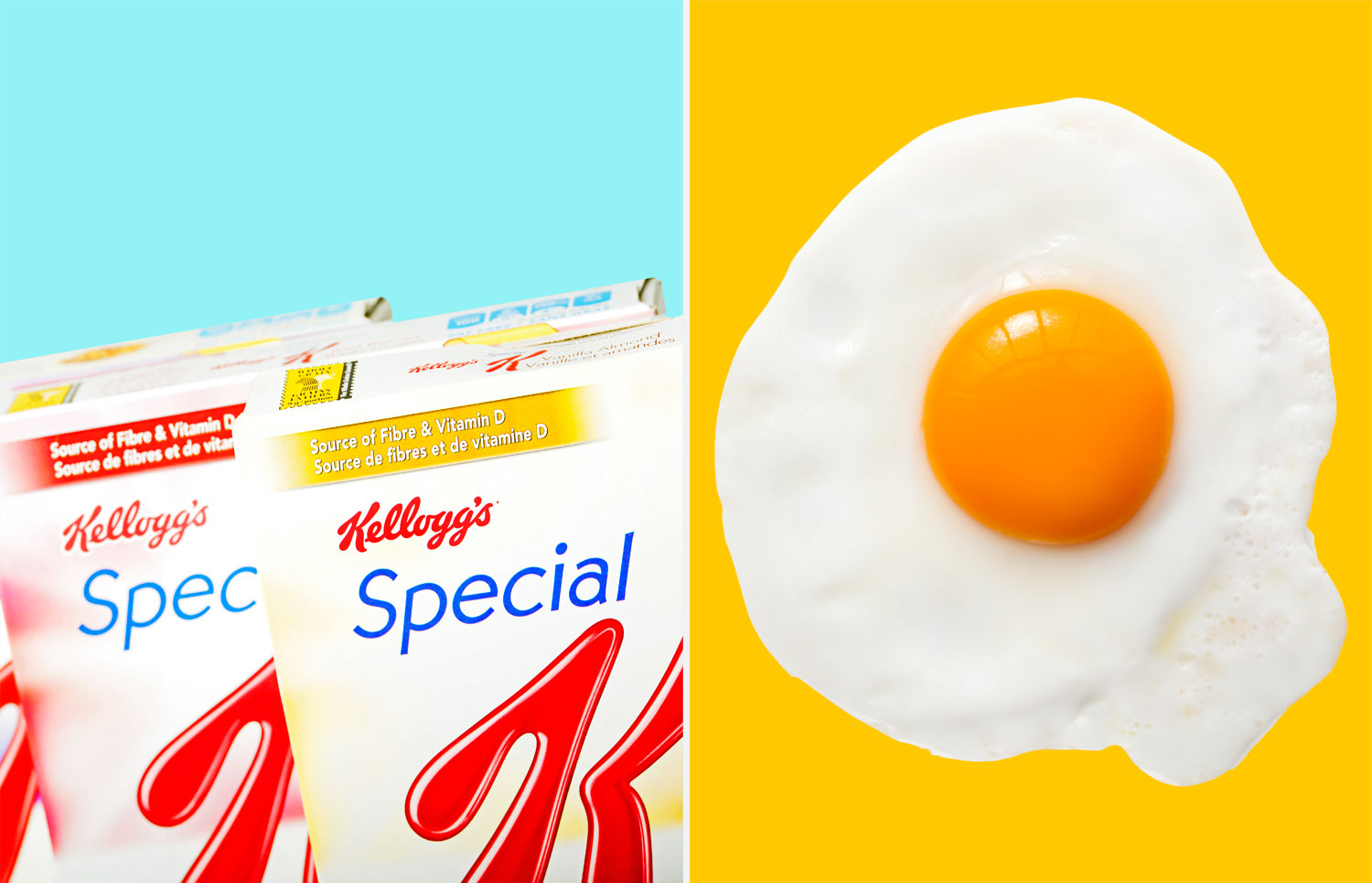 Which is better for you: Special K or eggs?