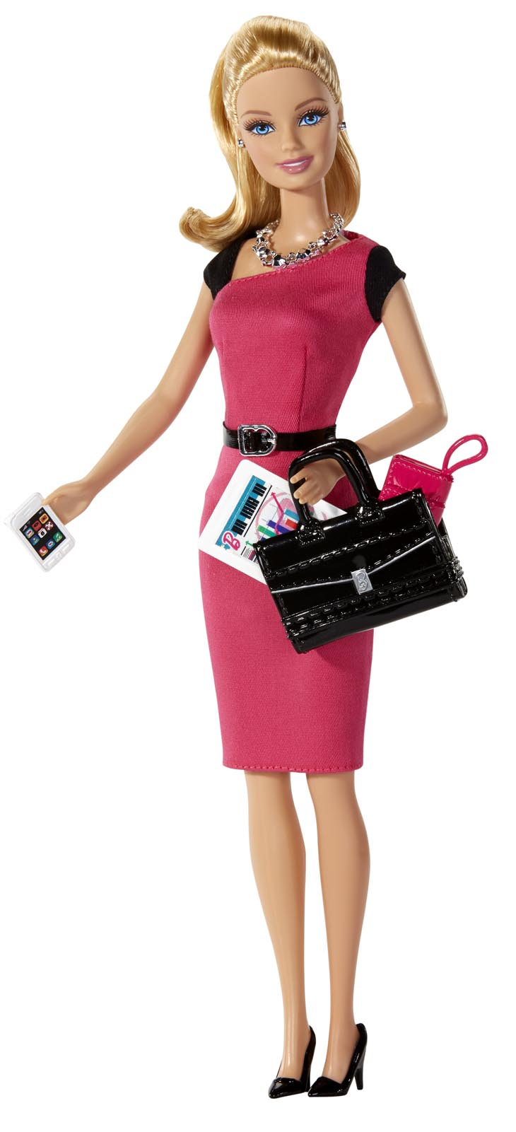 Mattel's 2014 Career of the Year doll, Entrepreneur Barbie, released June 18 on Amazon.