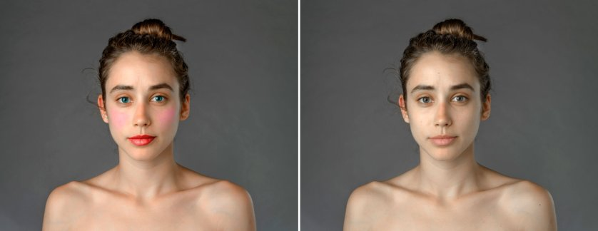 Esther Honig Photoshop Before and After