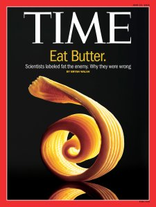 Eat Butter Fat Time Magazine Cover