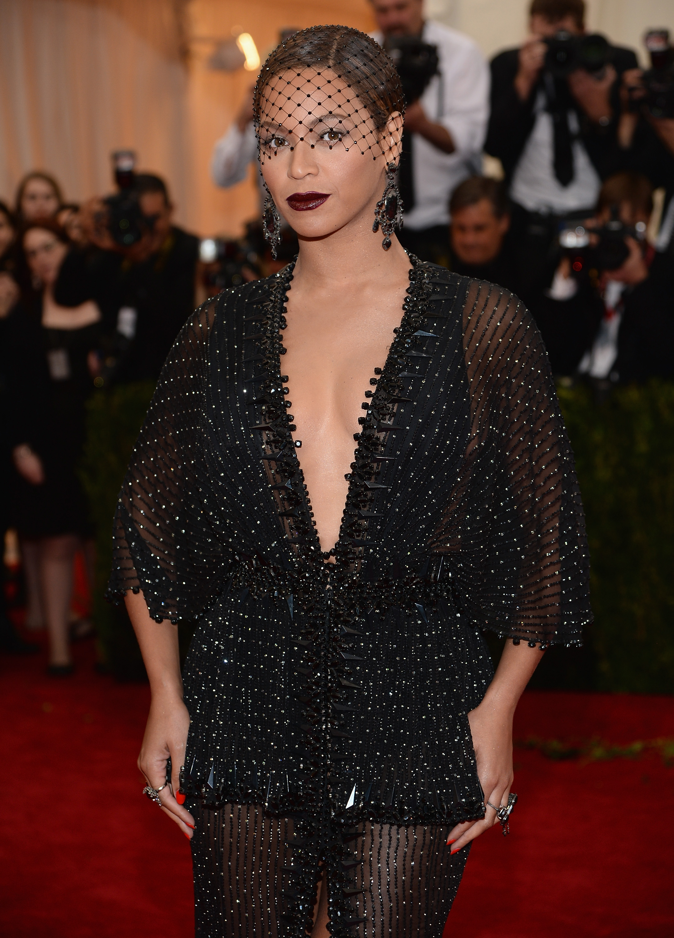 Beyonce attends a Metropolitan Museum of Art Gala in New York on May 5.