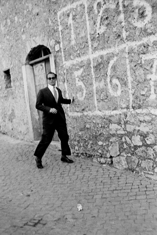 Prince Karim Al Husseini, The Aga Khan IV, appears in Italy in 1960.
