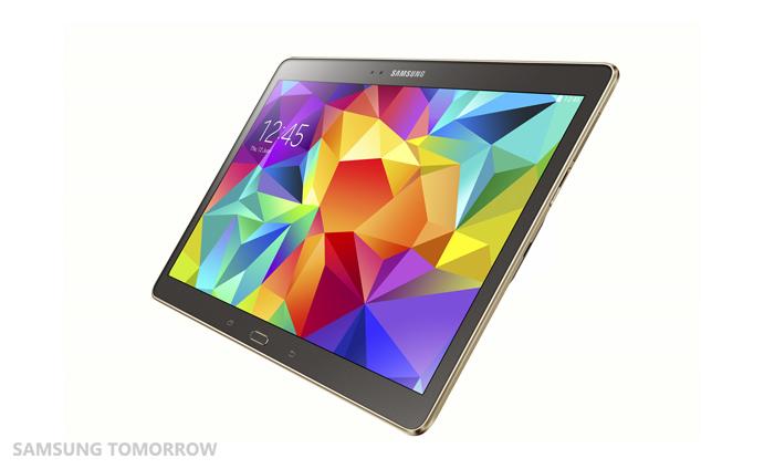 Samsung's 10.5-inch Galaxy Tab S tablet
