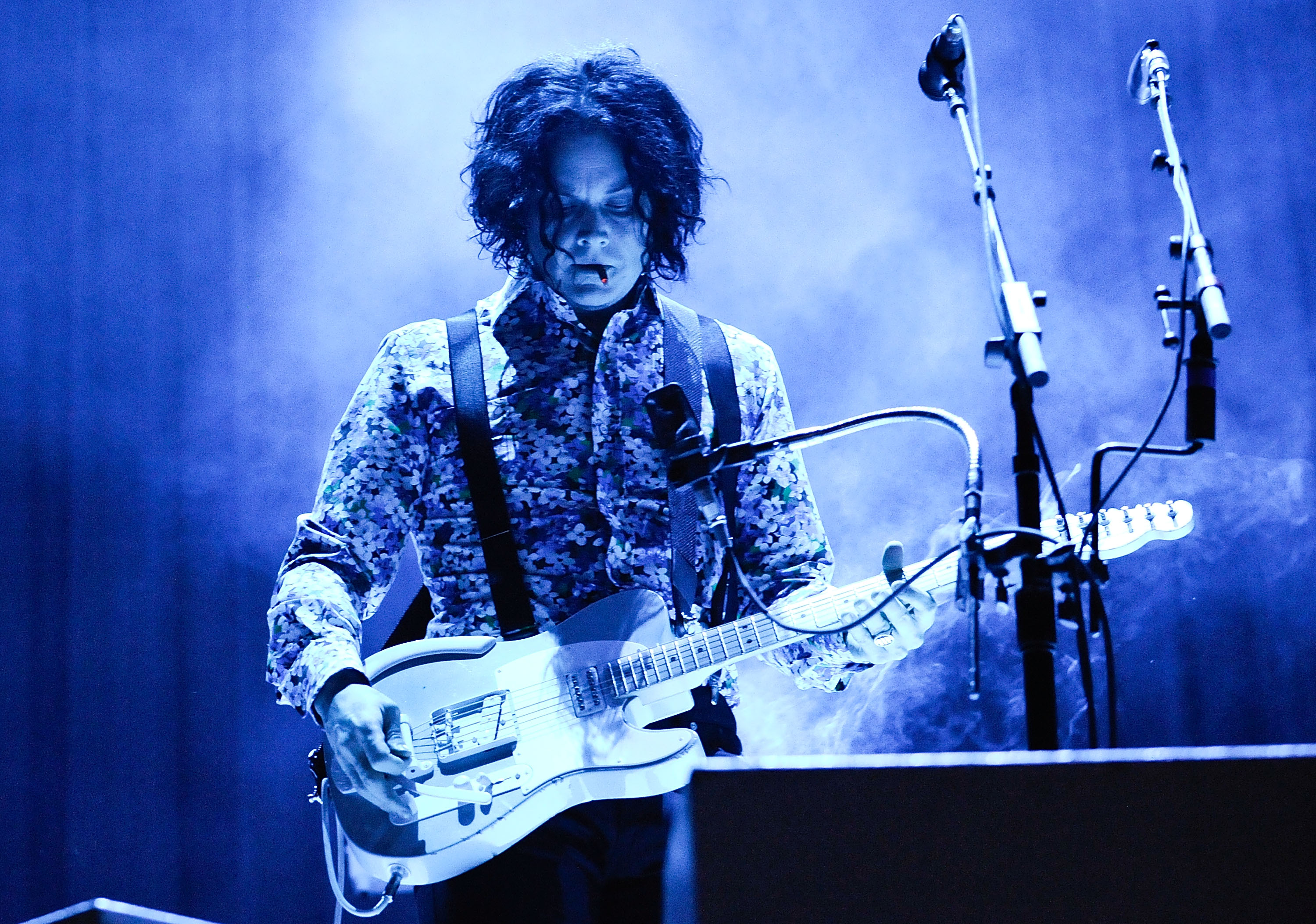 Jack White performs during the 2014 Governors Ball Music Festival at Randall's Island, New York City, on June 7, 2014