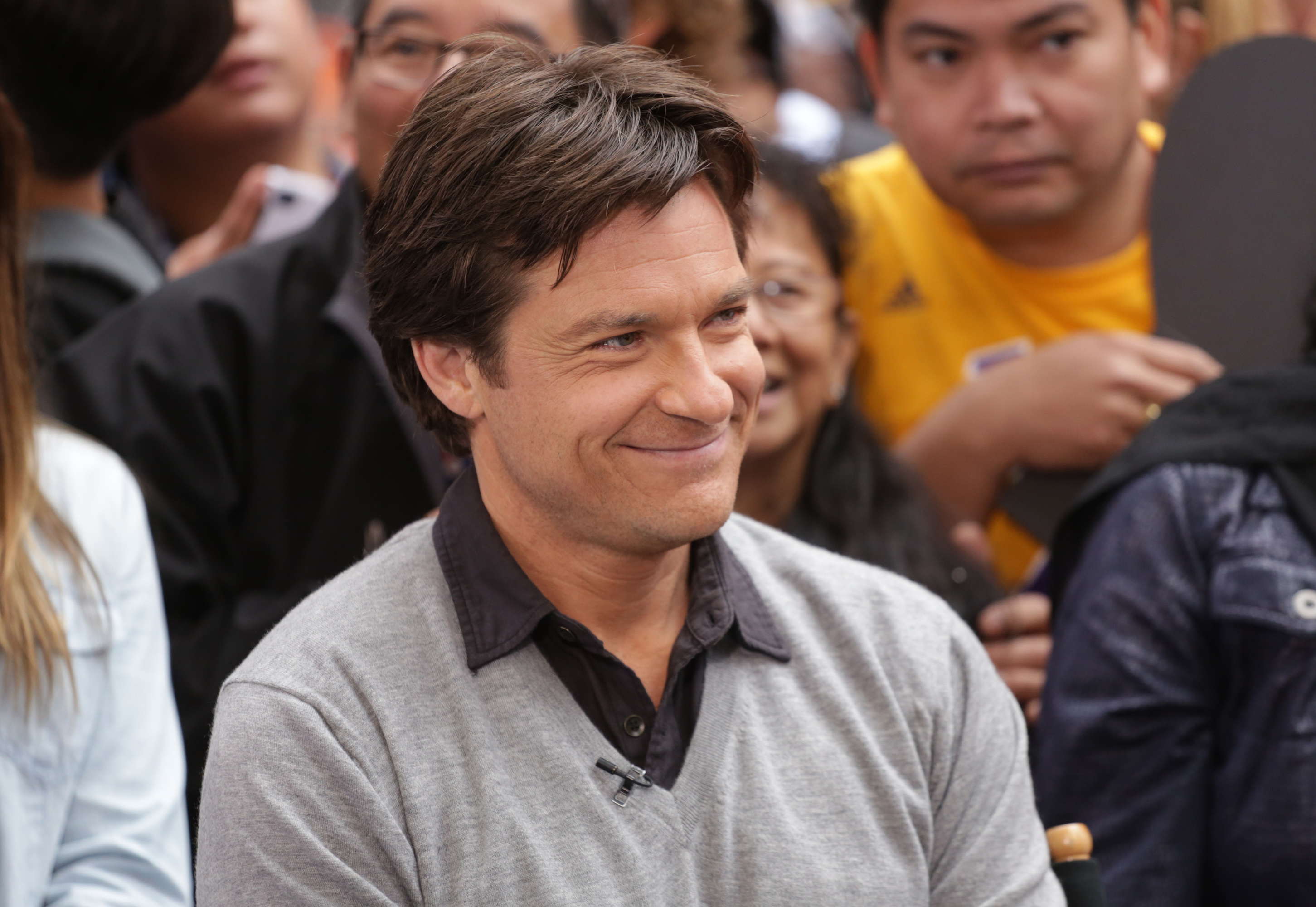 Jason Bateman is a guest on  Good Morning America,  on May 28, 2014 on the ABC Television Network.