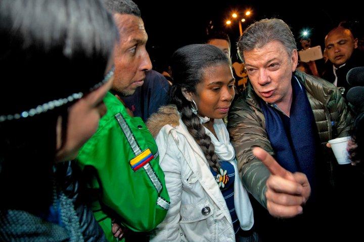 COLOMBIA-ELECTION-CAMPAIGN-SANTOS