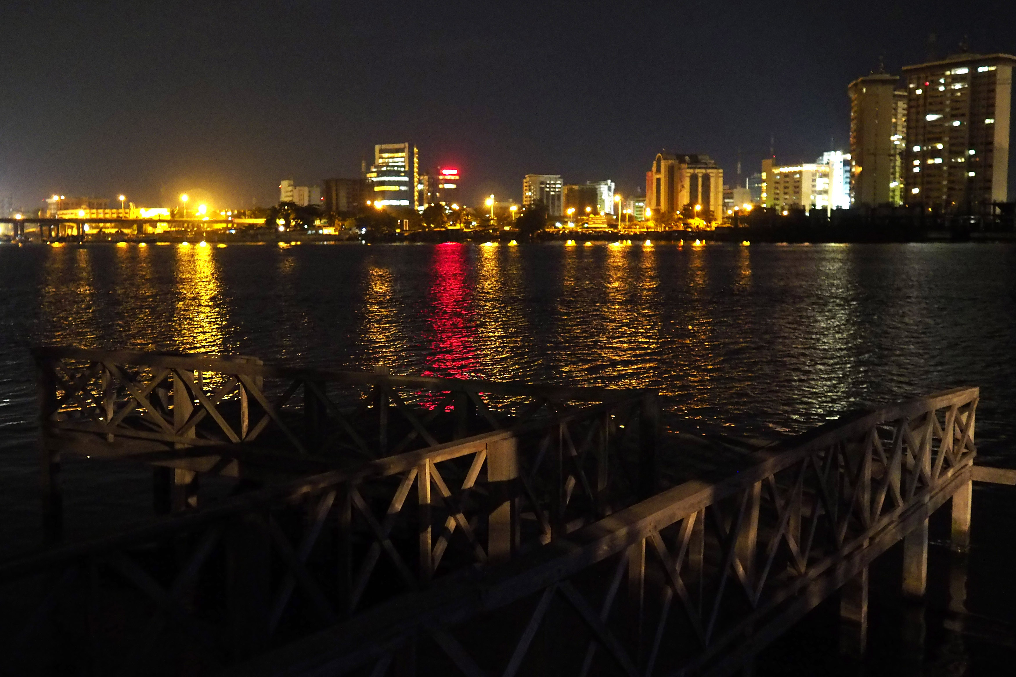 Nigeria has attracted much attention from American and European multinationals, according to a new survey. Here is the Victoria Island waterfront in Lagos from June 3, 2014