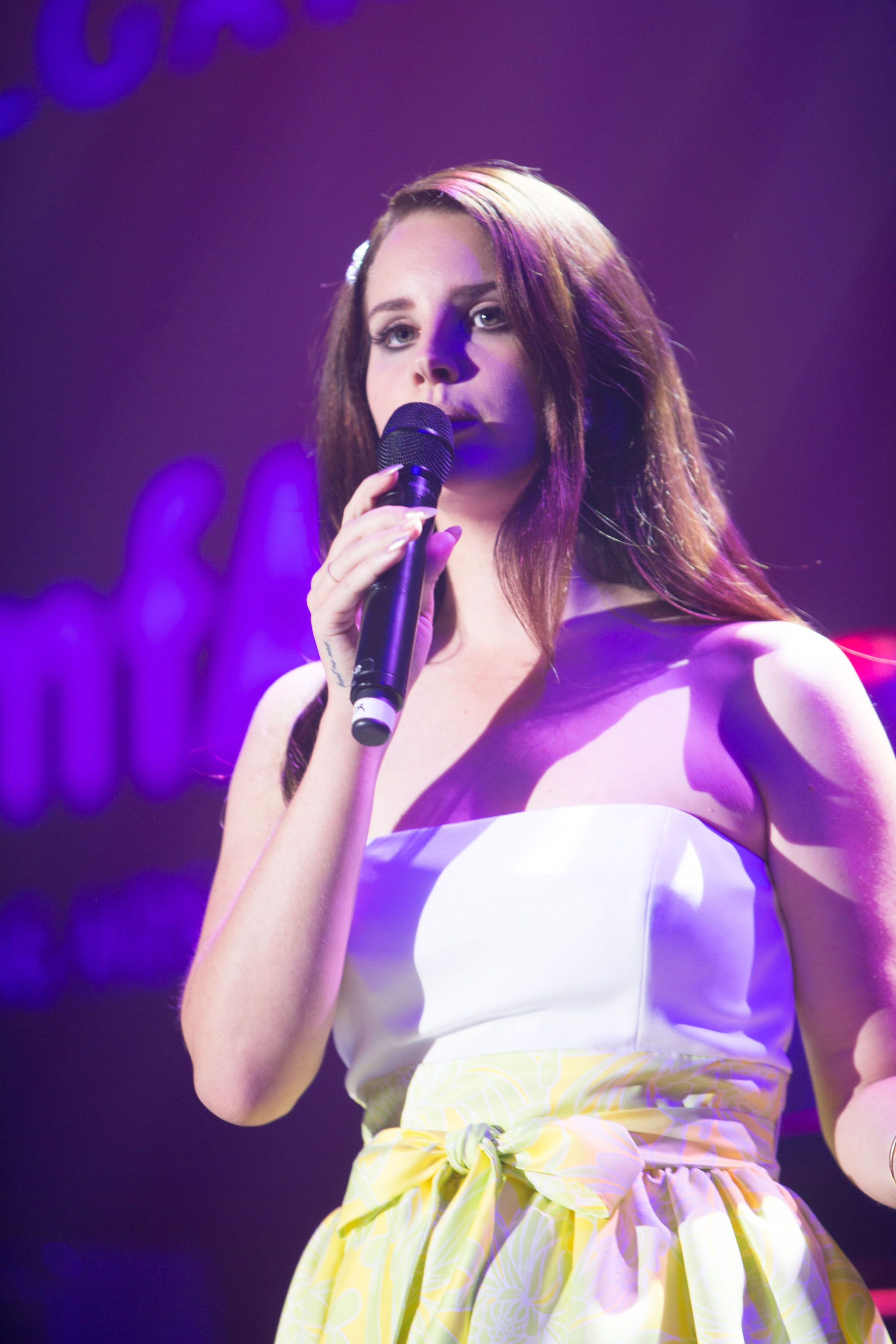 Lana Del Ray Cinema Against AIDS Event