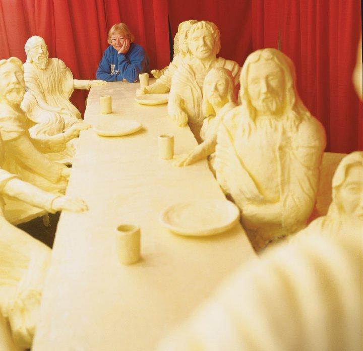 last-supper-butter