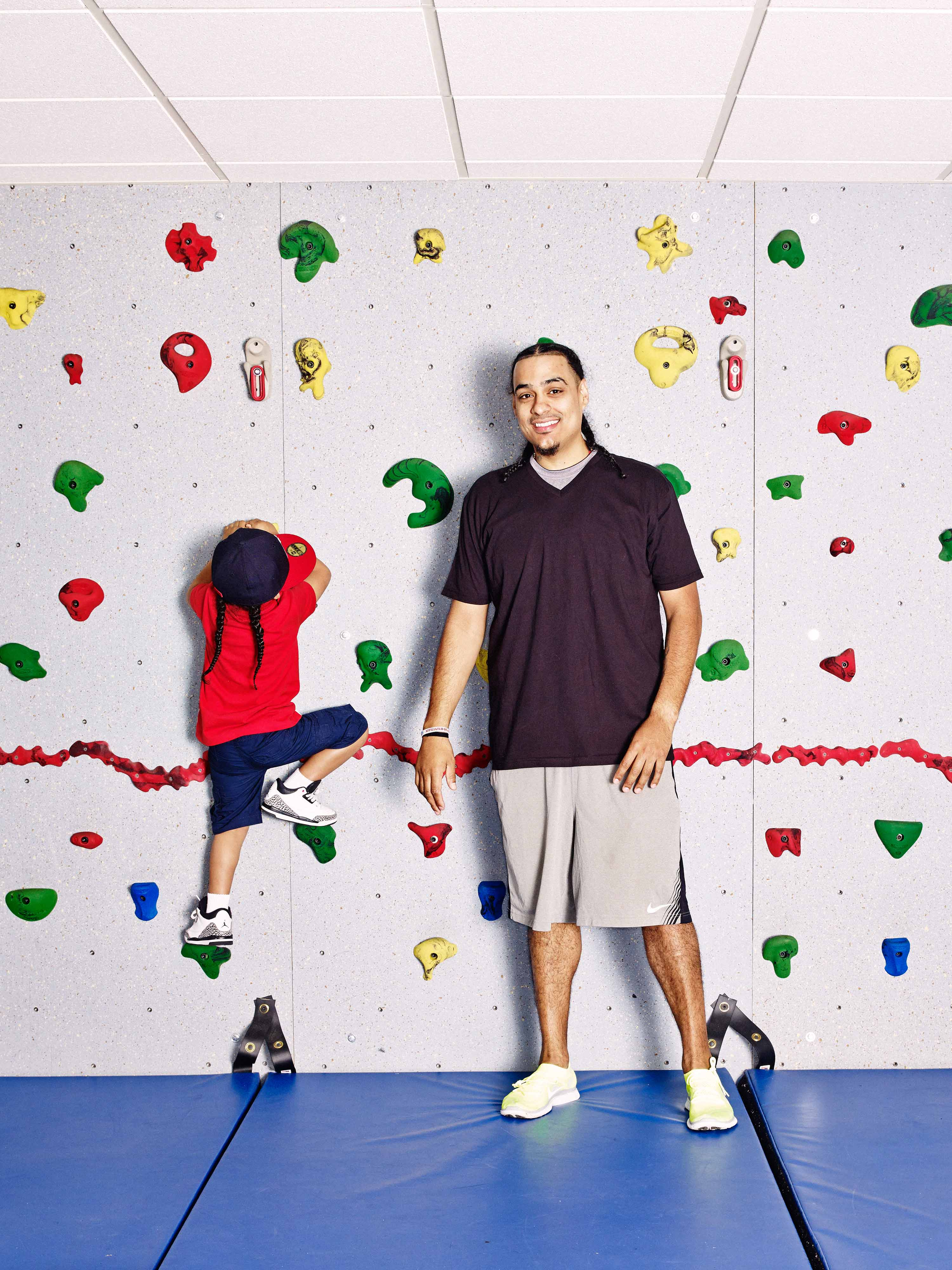 By the time he was 27, Luis Giuria, a South Bronx native, weighed 400 lb. But he has lost nearly 200 pounds thanks in part to living in Arbor House, a low-income housing project that emphasizes active design, an increasingly popular style of architecture that's meant to encourage physical activity.
