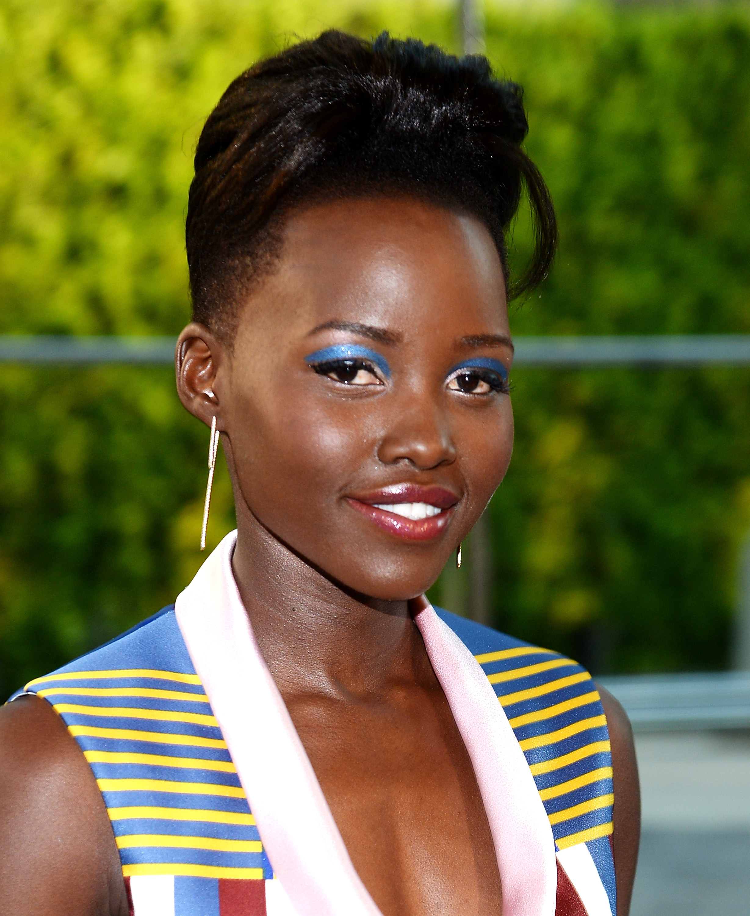 Actress Lupita Nyong'o attends the 2014 CFDA Fashion Awards at Alice Tully Hall in New York City on  June 2, 2014.