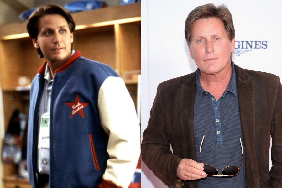 Emilio Estevez's (Godon Bombay) most recent film was 2010's 'The Way,' which he wrote, directed and starred in.