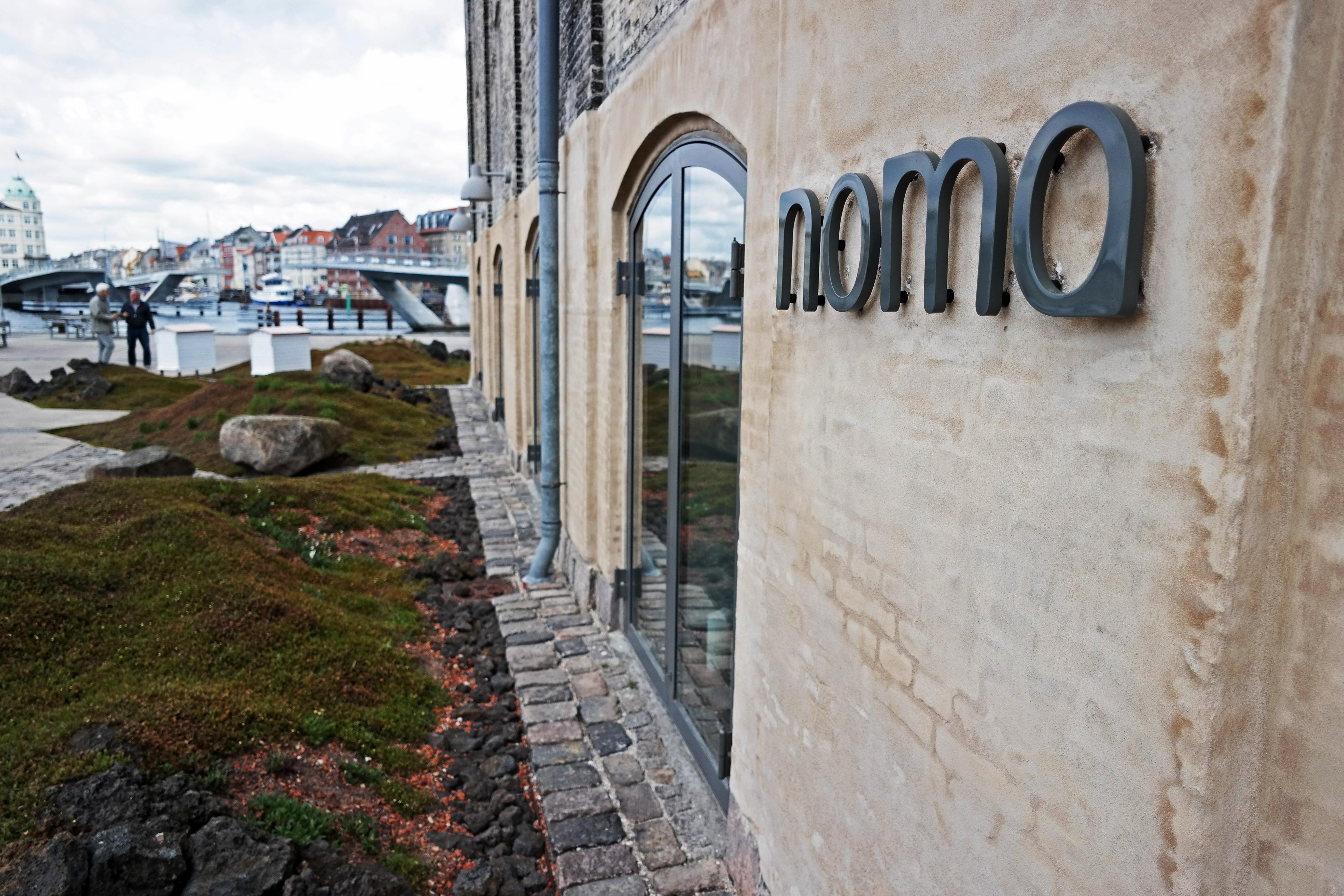 The world's best restaurant  Noma  in Copenhagen on May 5, 2014.