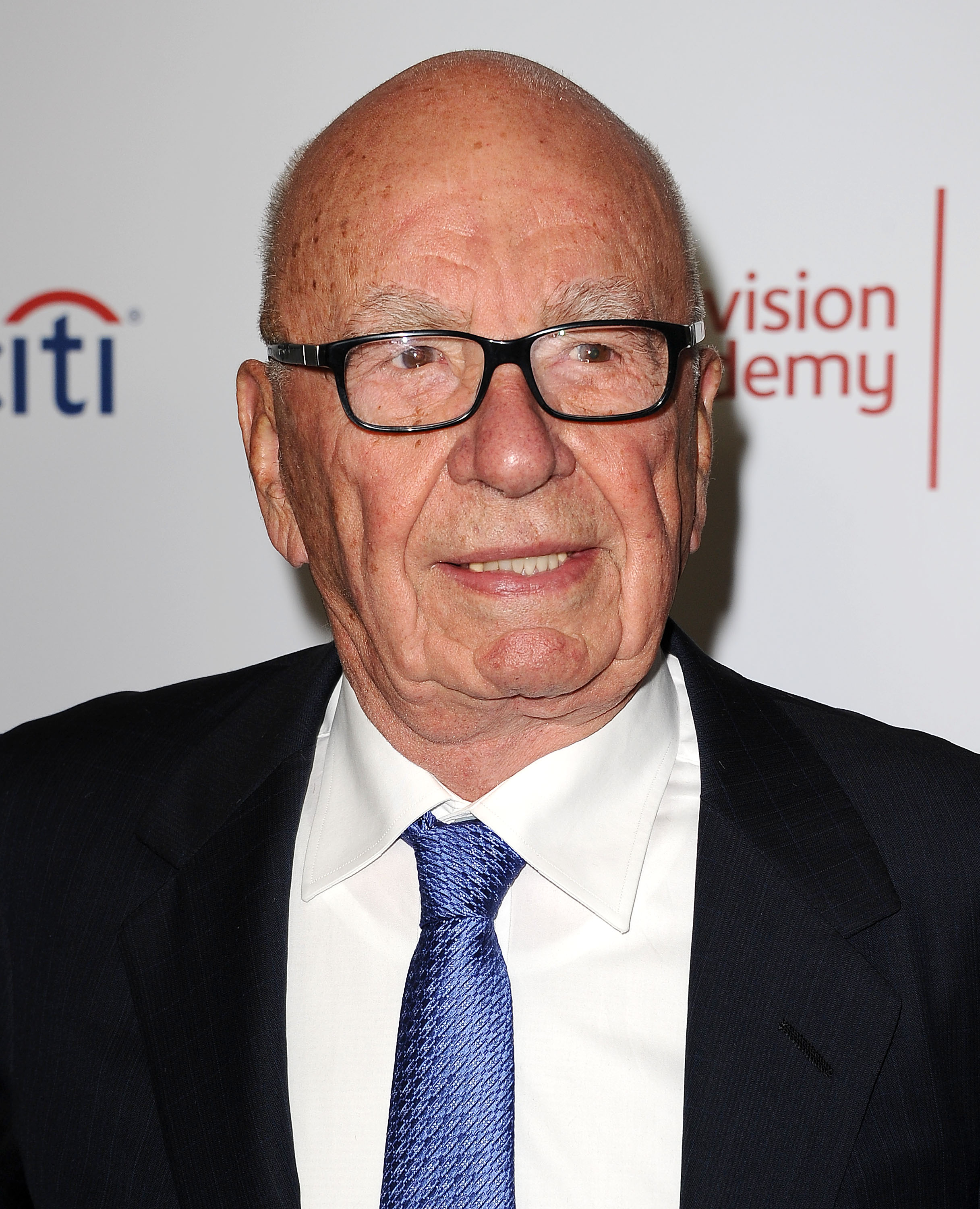 Rupert Murdoch attends the Television Academy's 23rd Hall of Fame induction gala at Regent Beverly Wilshire Hotel on March 11, 2014 in Beverly Hills, Calif.