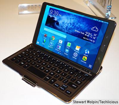 Bluetooth keyboard case for the Galaxy Tab S 8.4