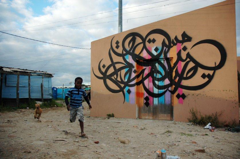 Street Art El Seed It Impossible