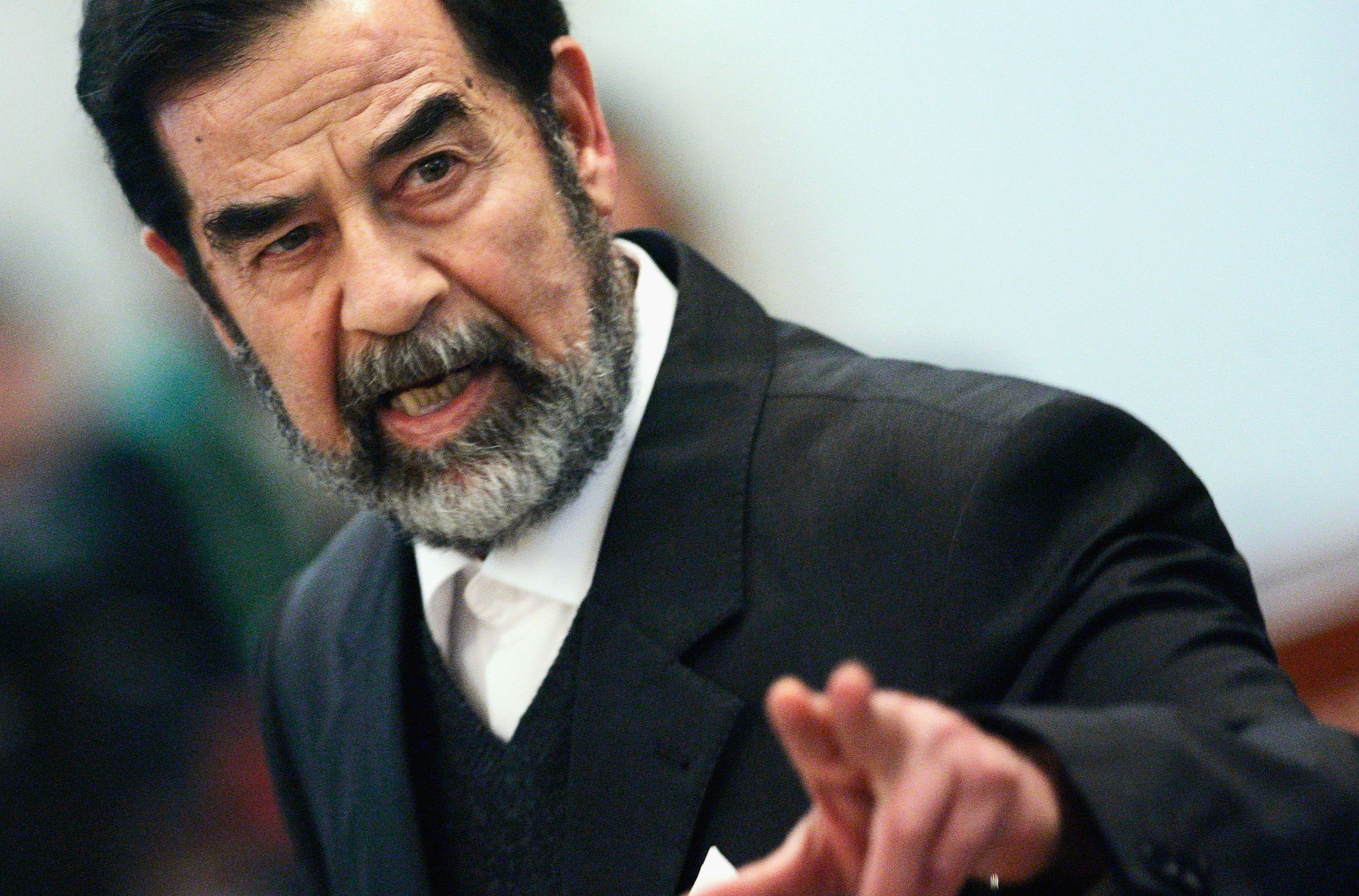 <b>$25 million: Saddam Hussein (removed)</b>                                   Saddam Hussein was the president of Iraq from 1979-2003. The U.S. and the U.K. invaded Iraq in 2003 and deposed him on suspicions of ties to al-Qaeda. He was tried and convicted in 2006 of charges related to the 1982 killings of 148 Iraqi Shi'ites. He was sentenced to death, and hung in Dec. 2006.