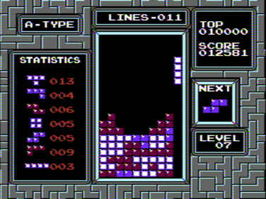 Tetris for the Nintendo Entertainment System