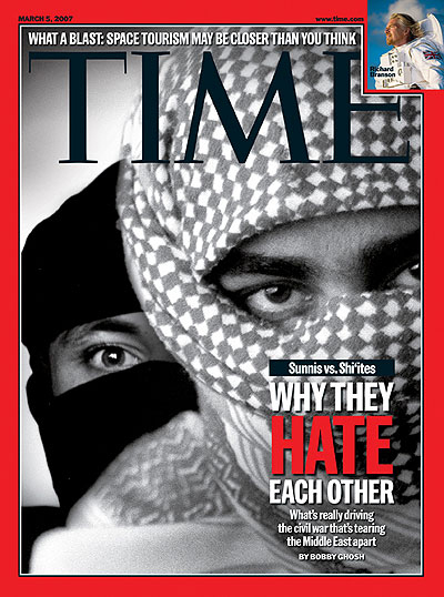 Time cover March 5, 2007